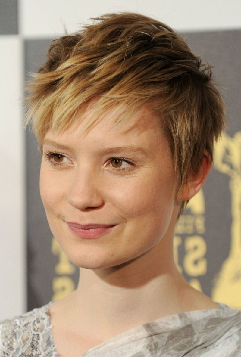 Short Hair Style – Youthful Look With Short Haircut | Mia Wasikowska With Youthful Pixie Haircuts (View 15 of 20)
