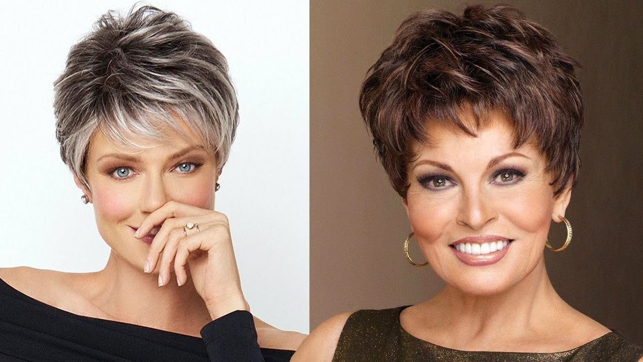 Short Hairstyles For Older Women 2018 2019 | Short Hair Hairstyles With Pixie Hairstyles For Women Over (View 18 of 20)
