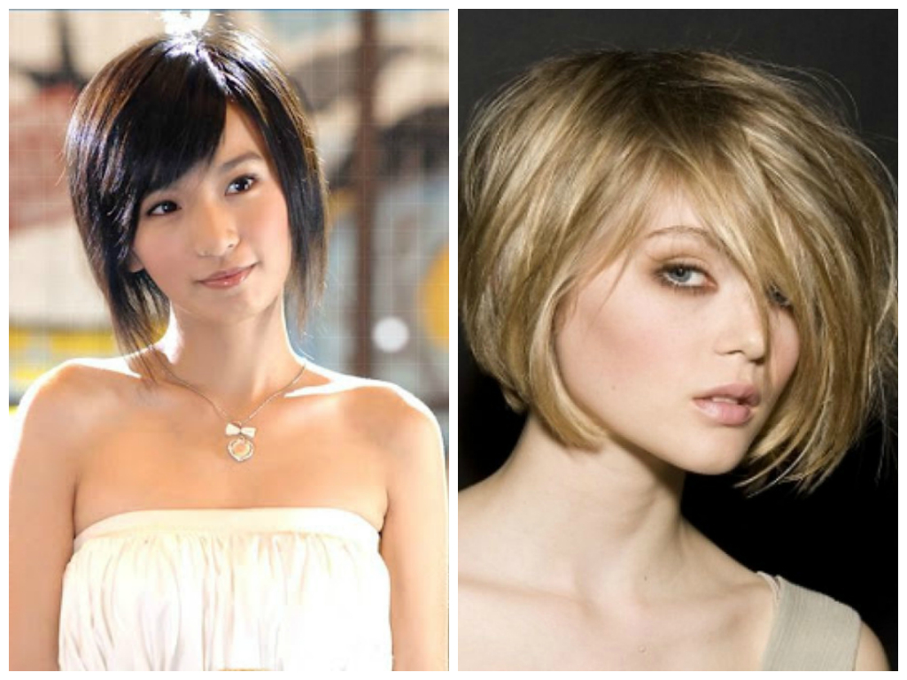 Short Layered Bob For Oval Face | Medium Hair Styles Ideas – 22691 With Regard To Layered Bob Hairstyles For Fine Hair (View 16 of 20)
