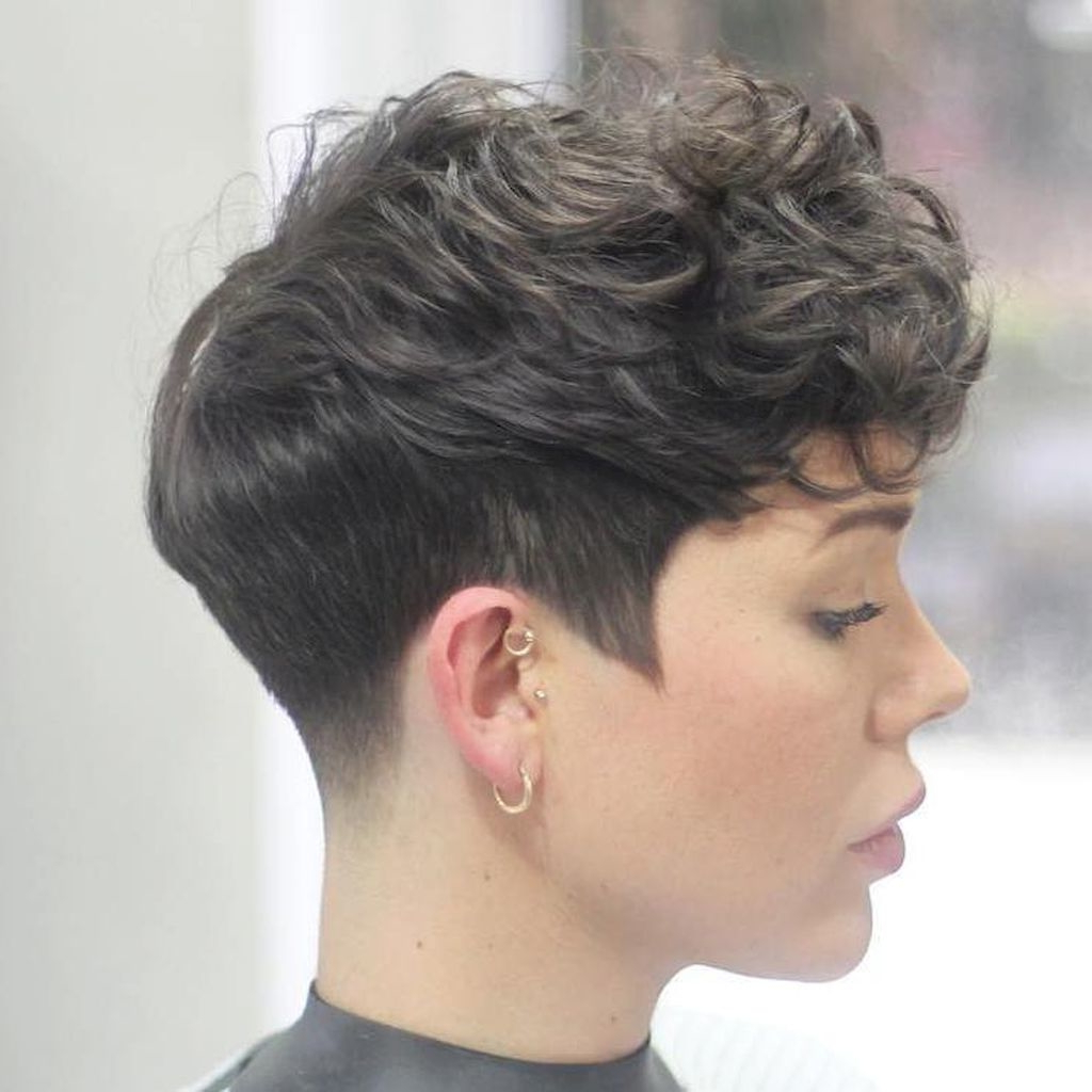 Short Pixie Haircuts For Thick Hair – Short And Cuts Hairstyles Regarding Gray Pixie Hairstyles For Thick Hair (Gallery 14 of 20)