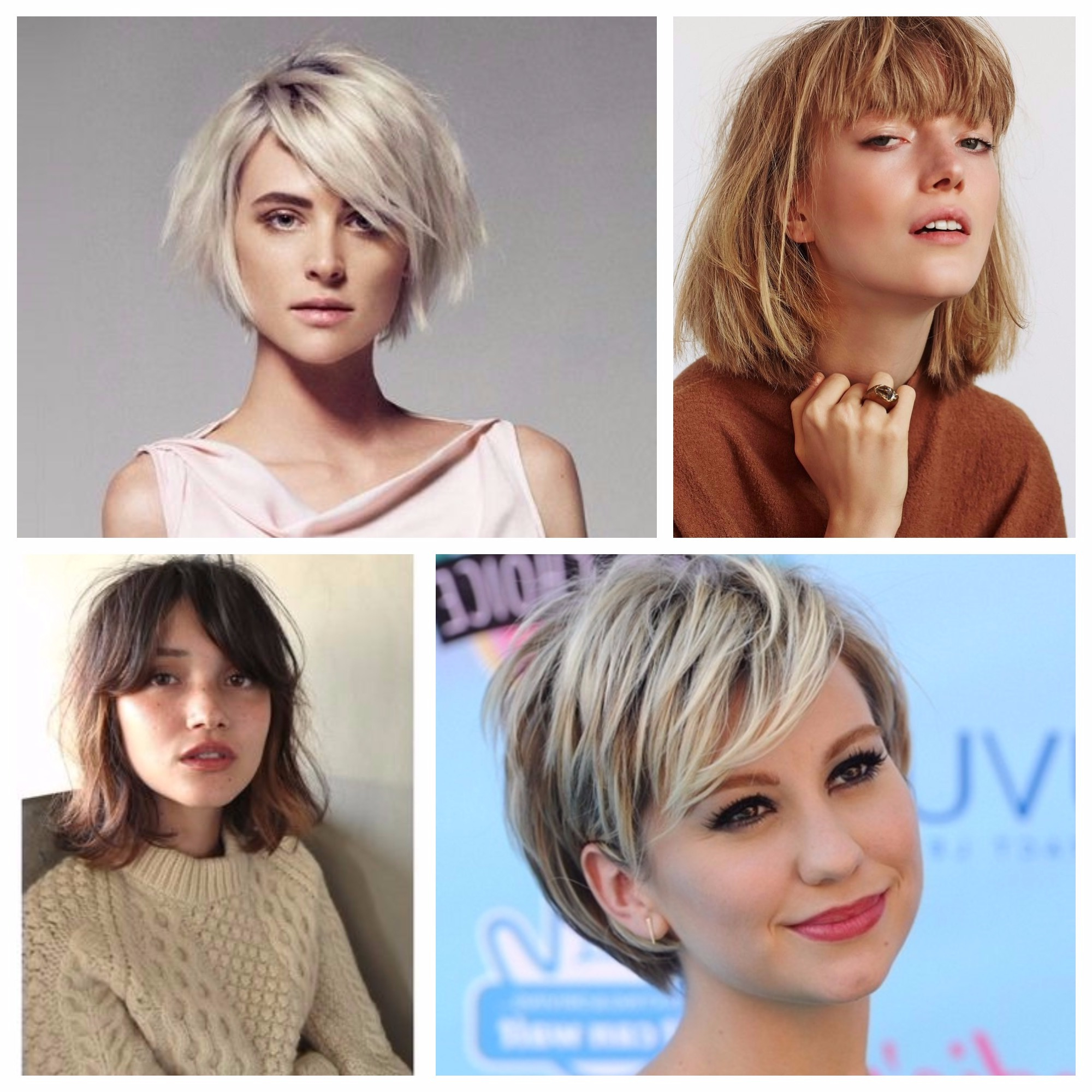 Short Textured Bob With Bangs For Fine Hair – Hair World Magazine With Layered Pixie Hairstyles With Textured Bangs (View 18 of 20)