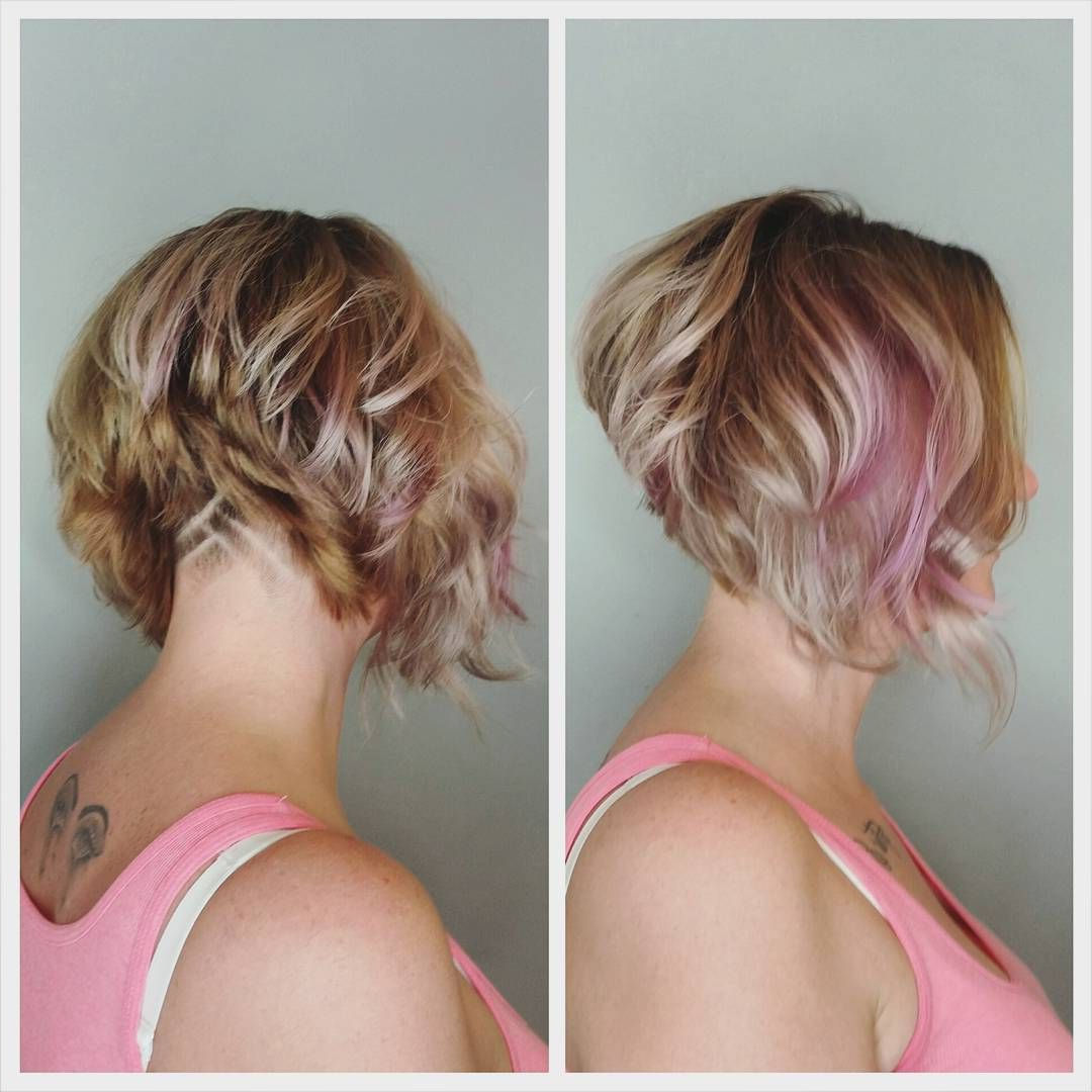 Stacked Undercut Bob | Cool Hair Styles And Color | Pinterest | Hair In Angled Undercut Hairstyles (View 13 of 20)