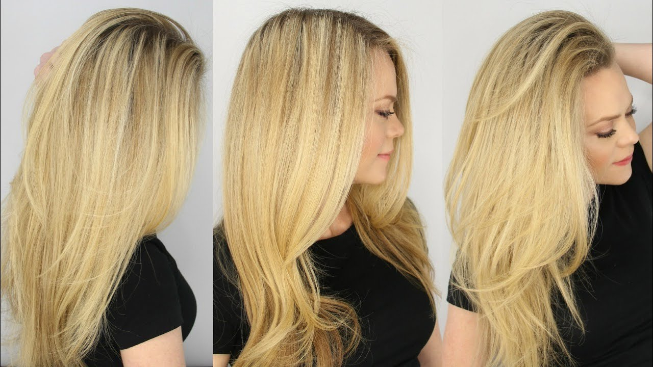 The Perfect Blowout For Everyday – Youtube Within Perfect Blow Out Hairstyles (View 2 of 20)