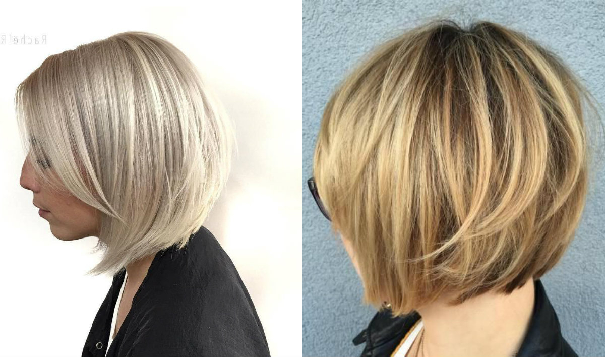 Timeless Graduated Bob Haircuts 2018 | Hairdrome Throughout Brown And Blonde Graduated Bob Hairstyles (View 10 of 20)