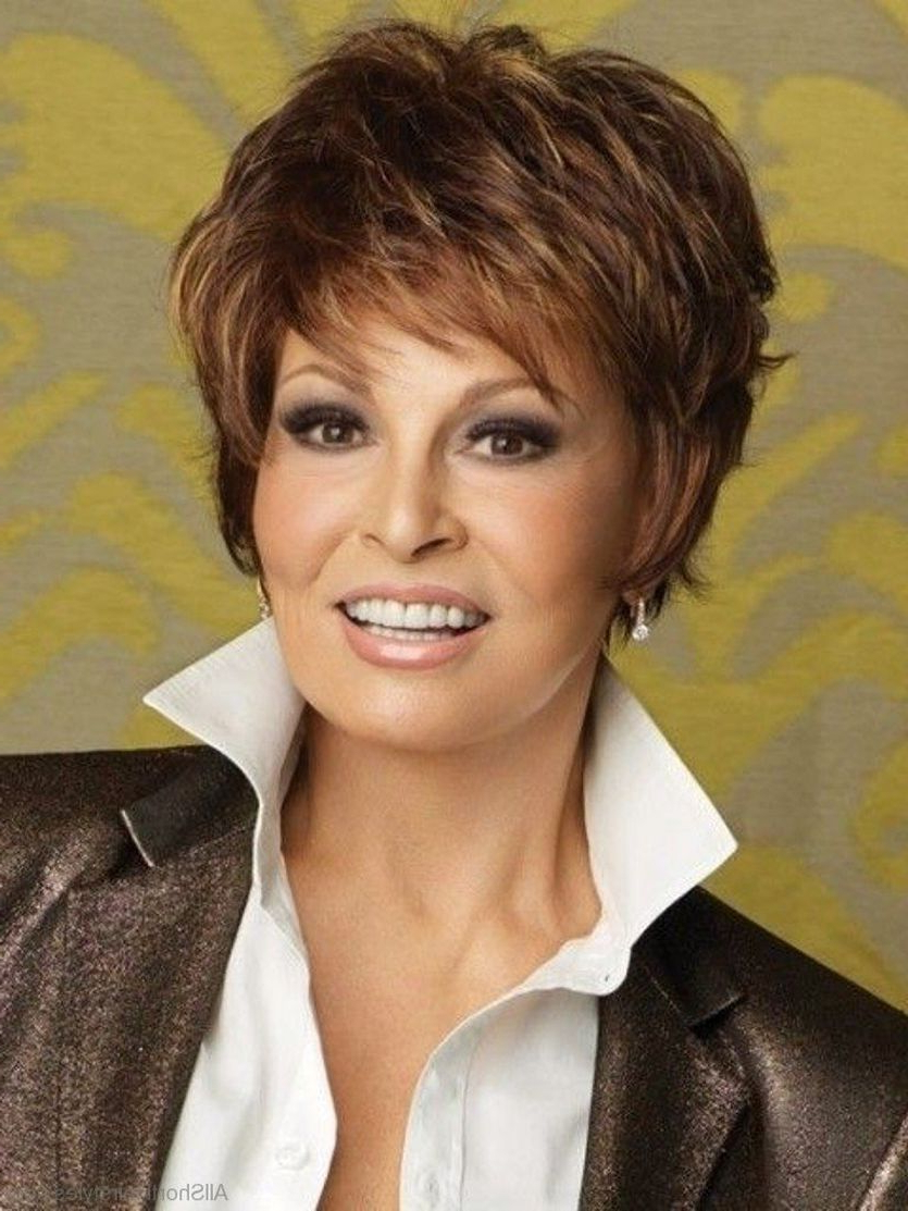 Timeless Short Hairstyles For Women Over 50 | Pinterest | Short In Dark Brown Hairstyles For Women Over (View 12 of 20)