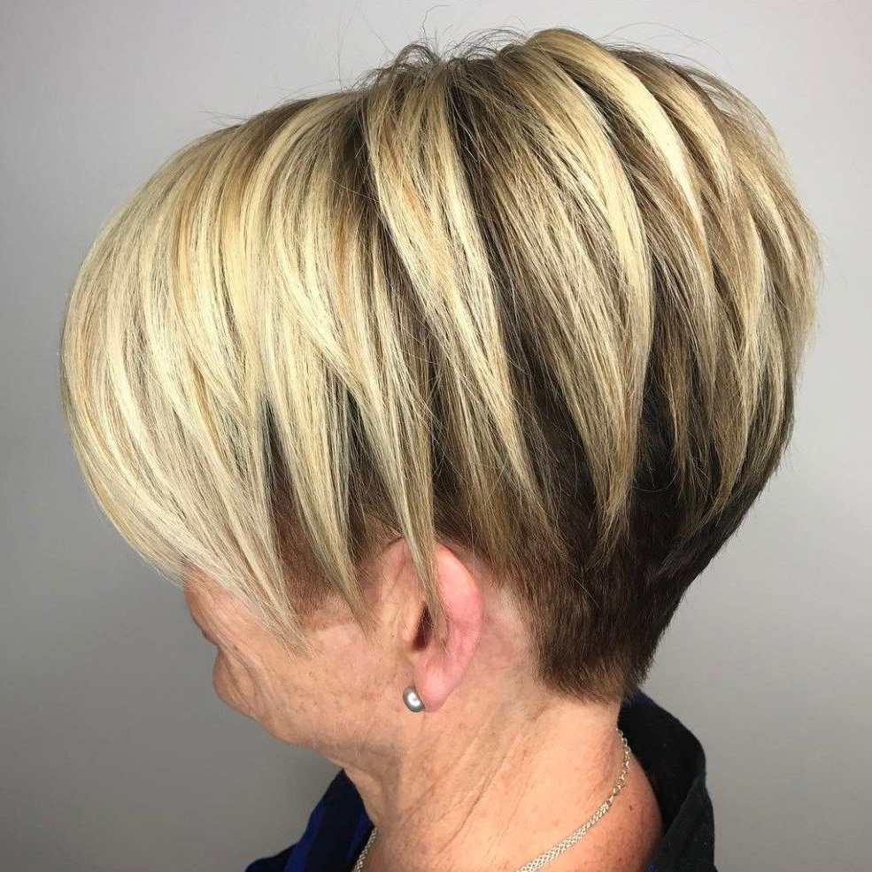 Undercut Pixie Bob For Older Women | Chic Short Hair Styles In 2018 With Regard To Edgy Pixie Bob Hairstyles (Gallery 4 of 20)