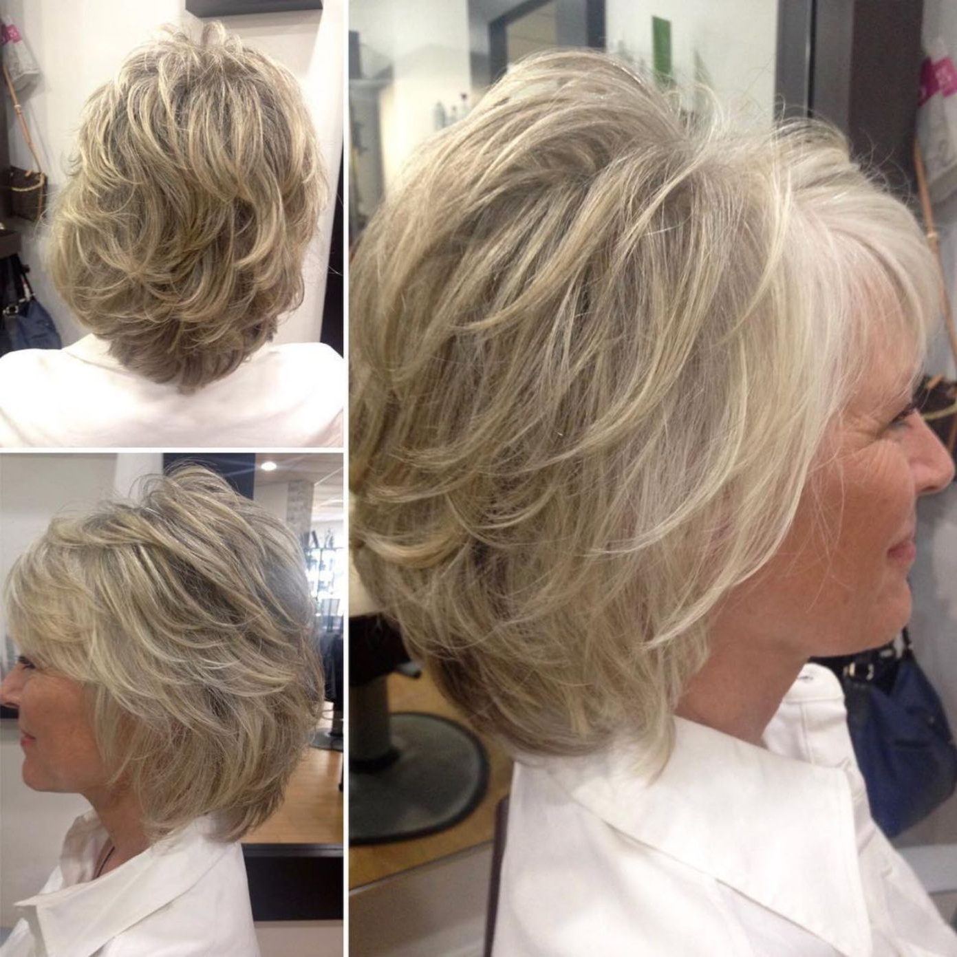 Featured Photo of Short Voluminous Feathered Hairstyles