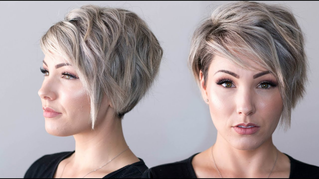 Voluminous Waves || Pixie Cut – Youtube For Voluminous Gray Pixie Haircuts (View 14 of 20)
