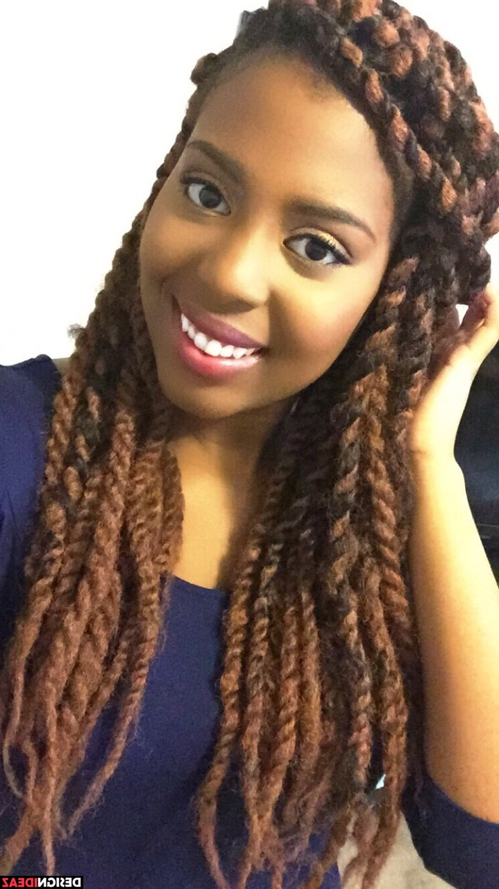 10 Awesome African American Braided Hairstyles For Long Faces Pertaining To Well Known Black Medium Hairstyles For Long Faces (View 1 of 20)