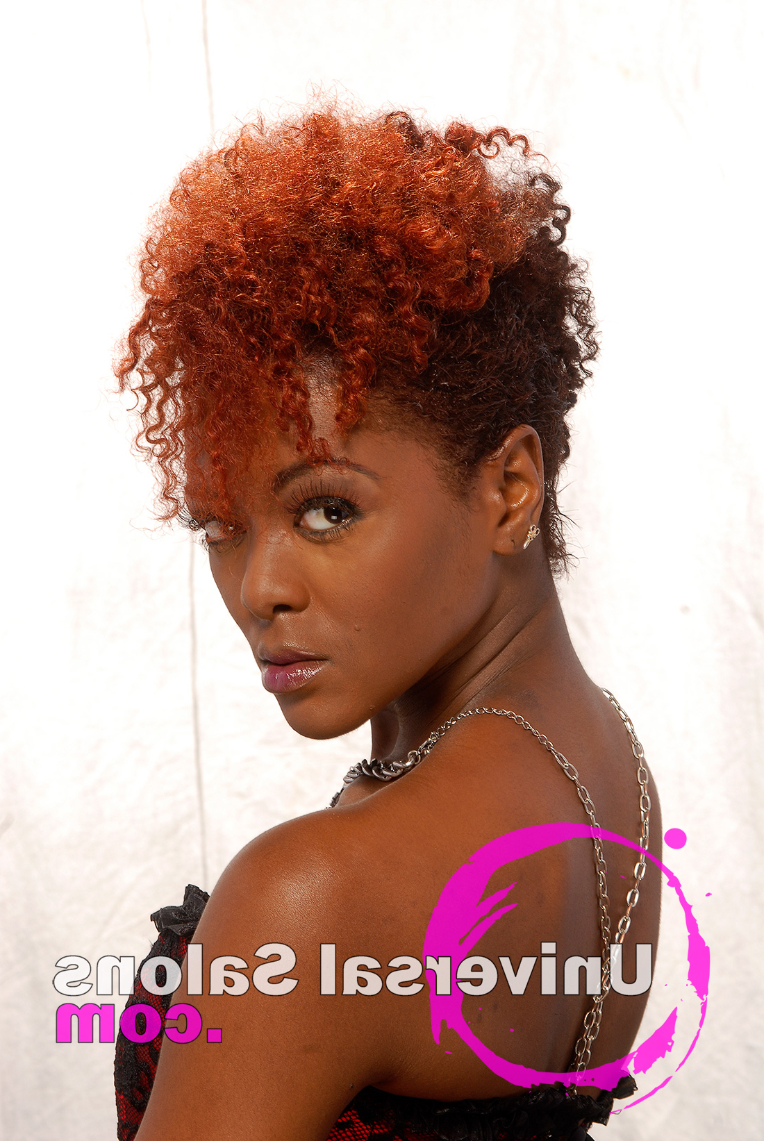 10 Awesome Hair Color Techniques For Black Women Inside Trendy Purple Rain Lady Mohawk Hairstyles (View 1 of 20)