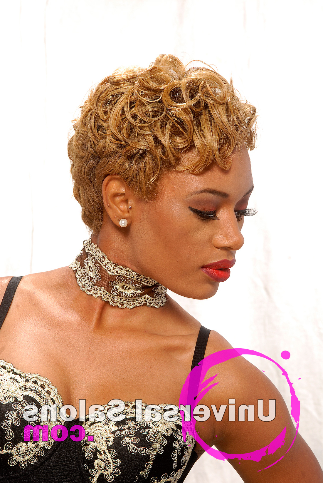 10 Awesome Hair Color Techniques For Black Women Inside Well Liked Purple Rain Lady Mohawk Hairstyles (View 2 of 20)