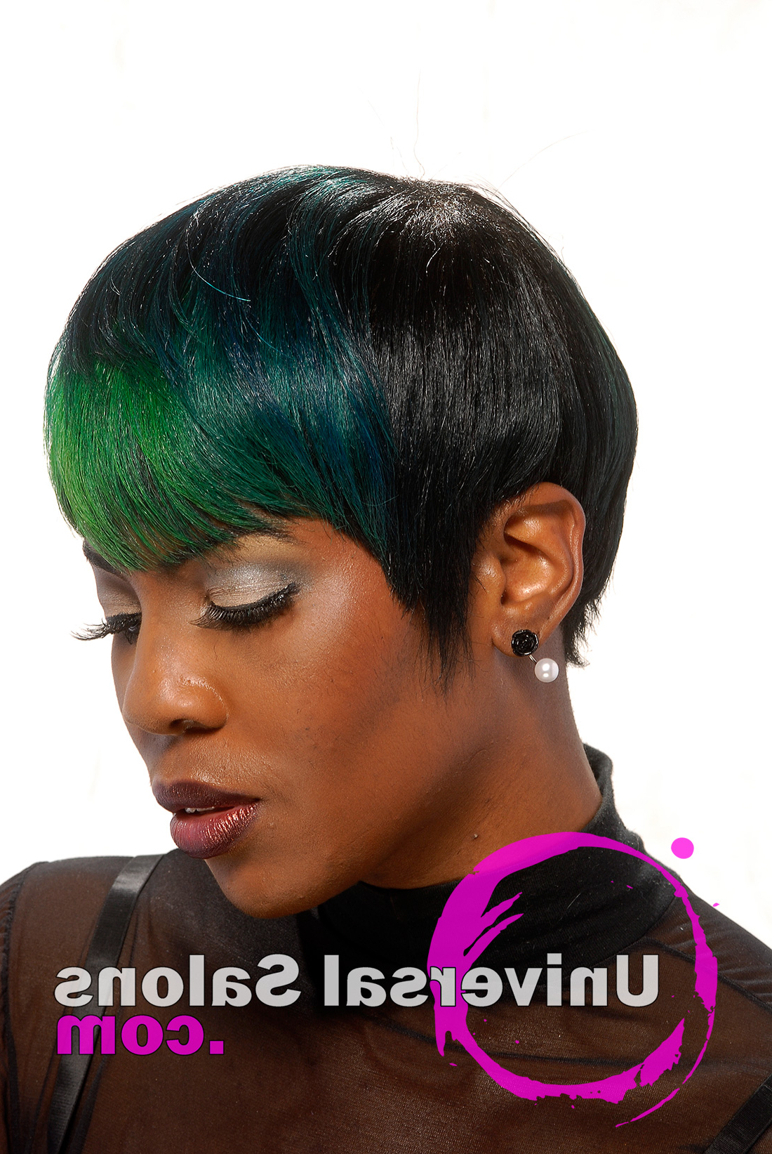 10 Awesome Hair Color Techniques For Black Women Within Most Up To Date Purple Rain Lady Mohawk Hairstyles (View 6 of 20)