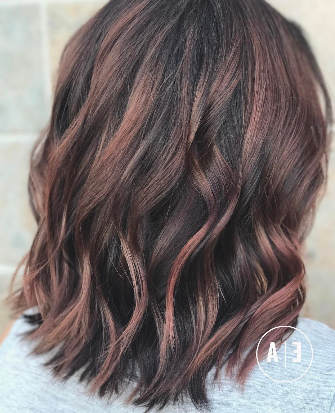 10 Balayage Hair Styles For Medium Length Hair 2019 – Freshen Up Pertaining To Popular Medium Haircuts With Red Color (View 9 of 20)