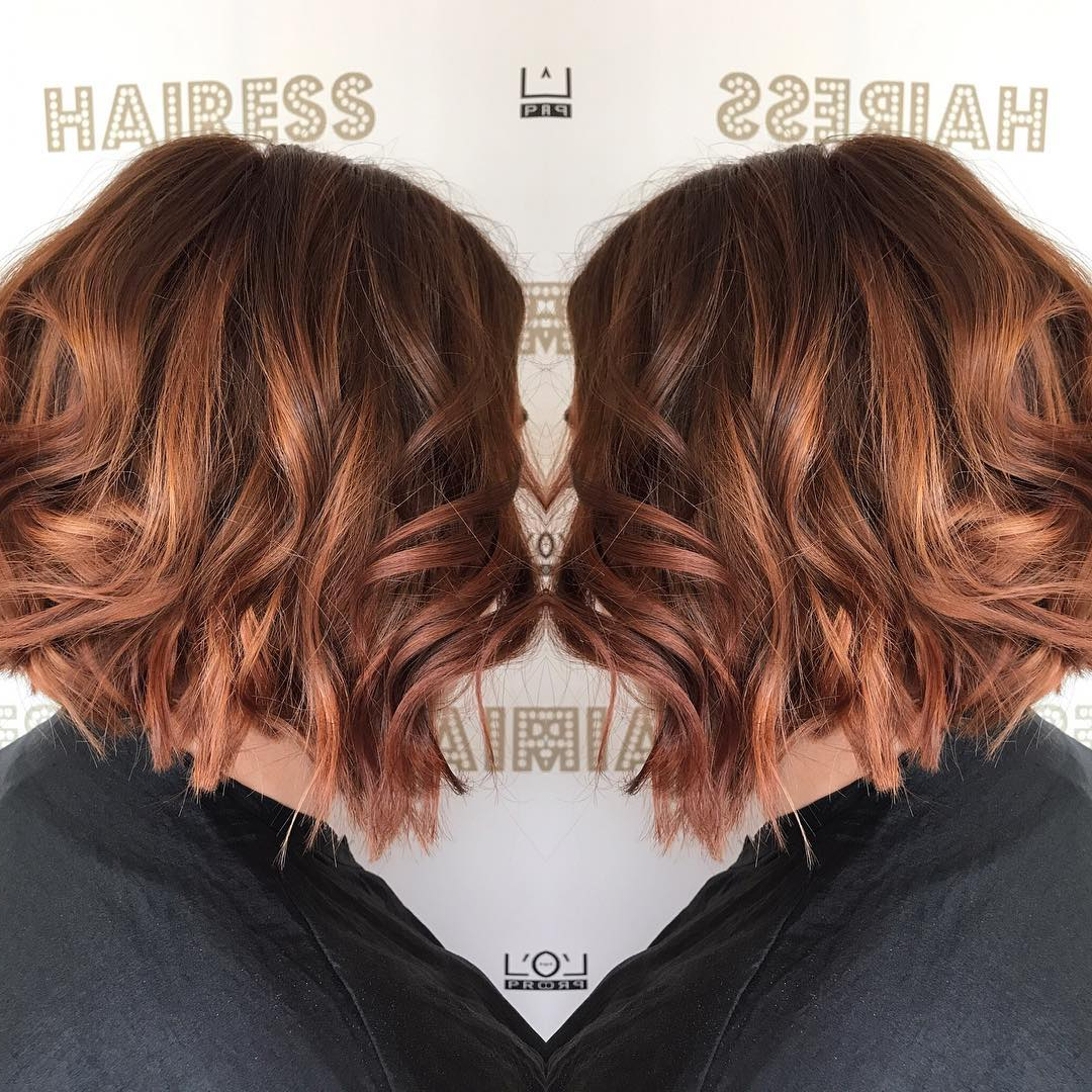 10 Beautiful Medium Bob Haircuts &edgy Looks: Shoulder Length Intended For Preferred Auburn Medium Hairstyles (View 11 of 20)