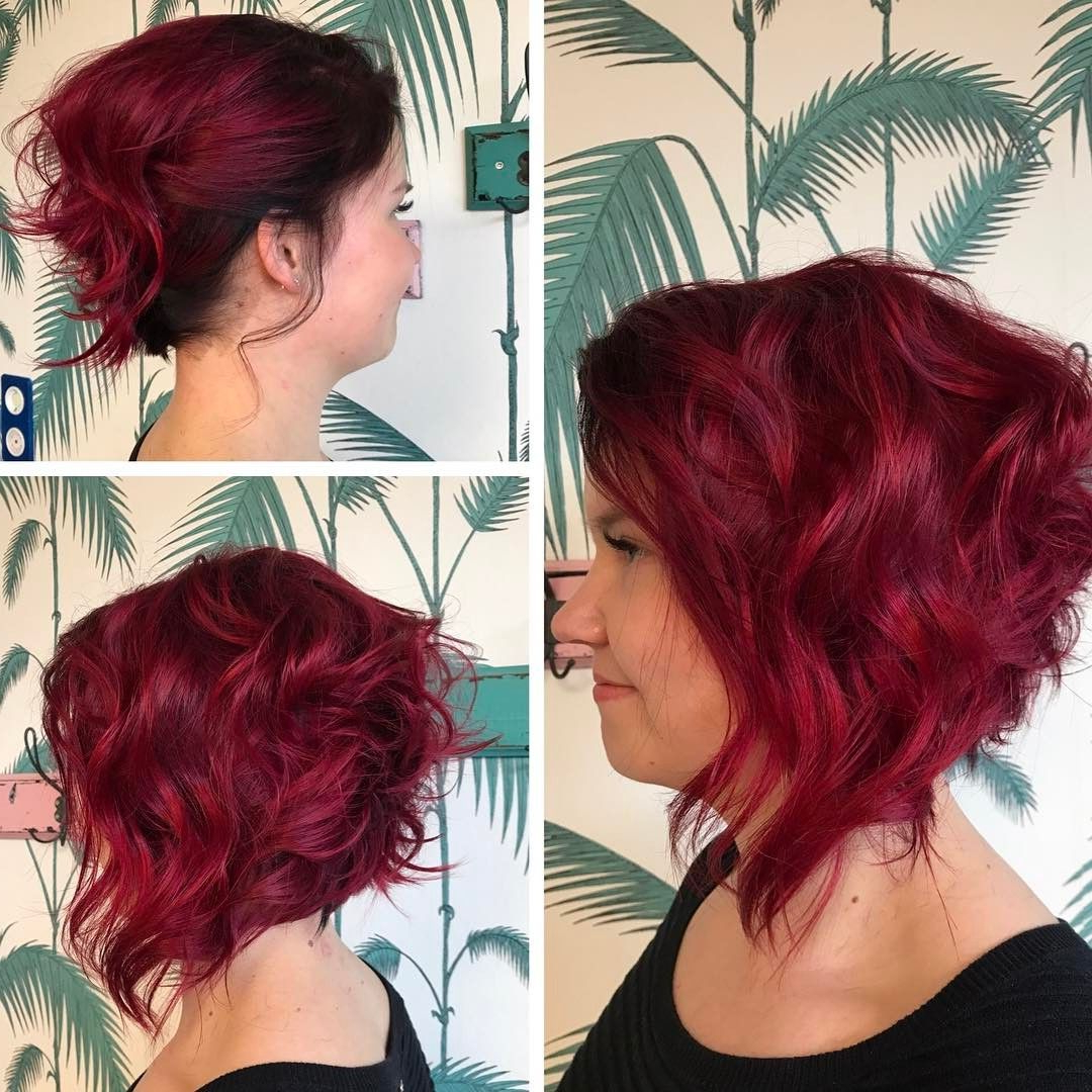 10 Beautiful Medium Bob Haircuts &edgy Looks: Shoulder Length Throughout Trendy Medium Haircuts With Red Hair (View 3 of 20)