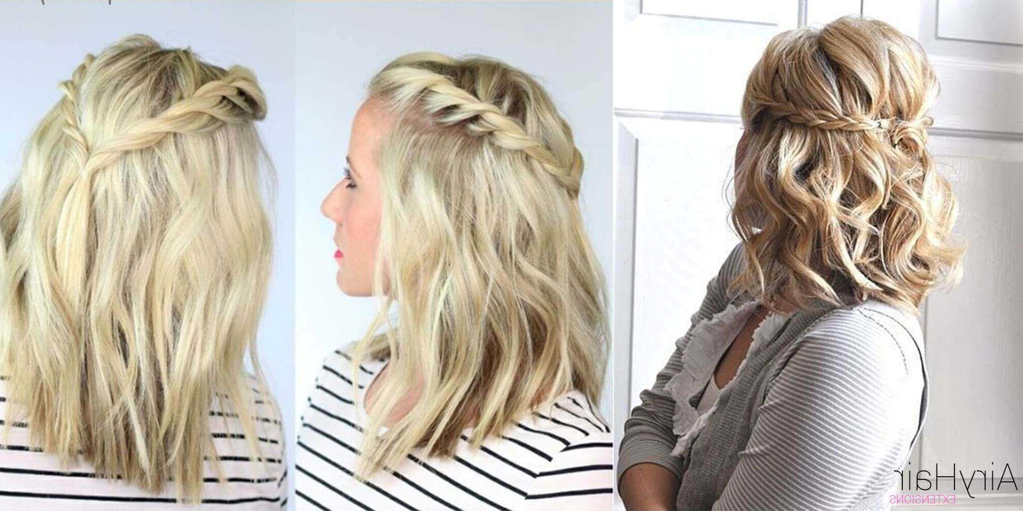 Featured Photo of Boho Medium Hairstyles