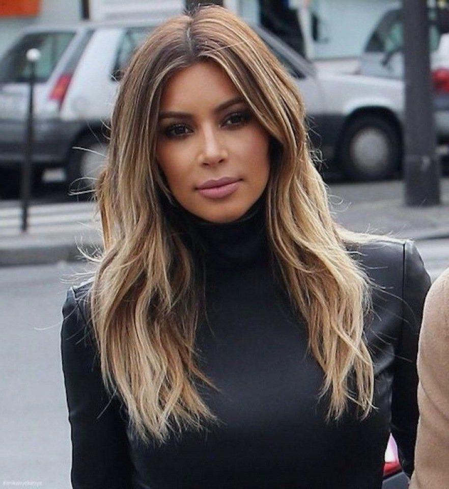 10 Different Medium Haircuts Kim Kardashian To Try In 2018 Inside Widely Used Kim Kardashian Medium Hairstyles (View 11 of 20)
