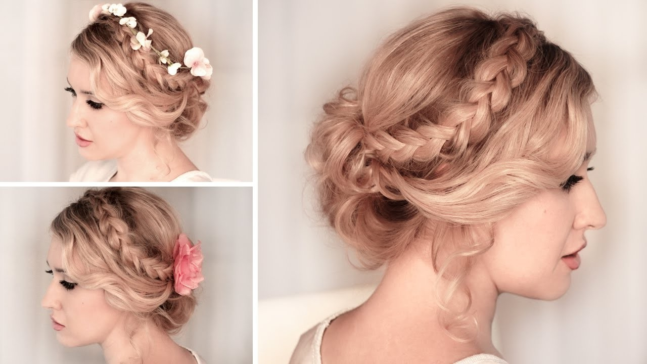 10 Easy Hairstyles For A Special Occasion – Youtube For Favorite Special Occasion Medium Hairstyles (View 2 of 20)