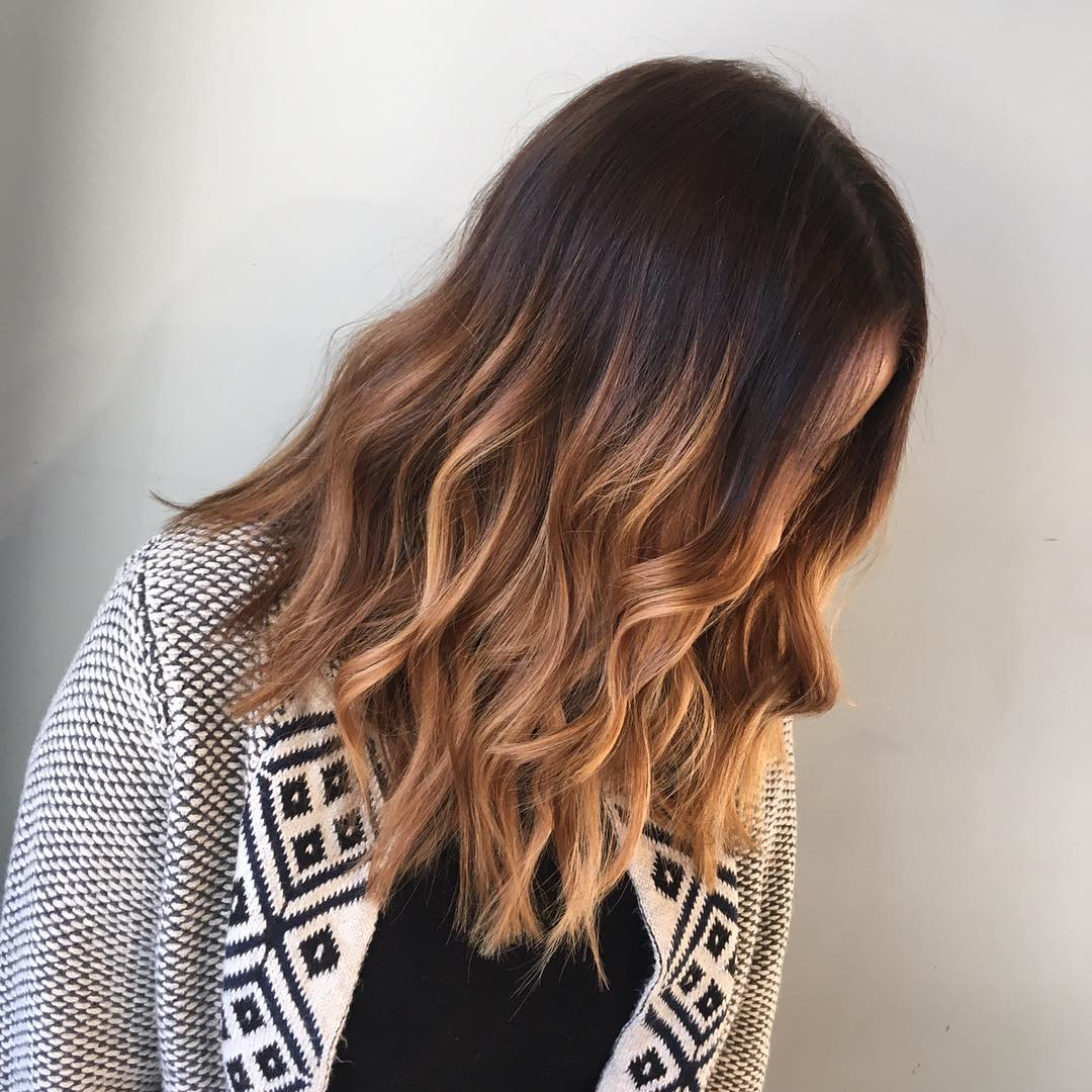 10 Everyday Medium Hairstyles For Thick Hair 2019: Easy Trendy Regarding 2017 Medium Haircuts For Thick Hair With Bangs (Gallery 11 of 20)