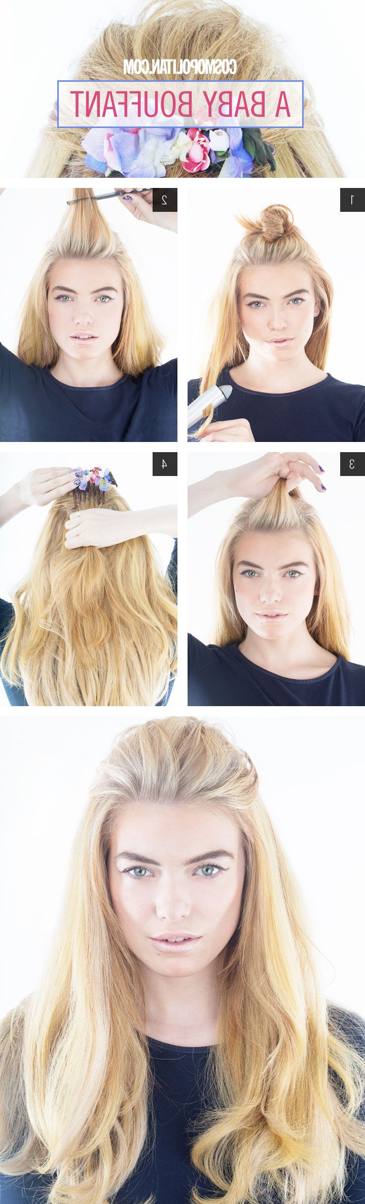 10 Hair Tutorials To Try: How To Teased Hair – Pretty Designs For Preferred Teased Medium Hairstyles (View 5 of 20)