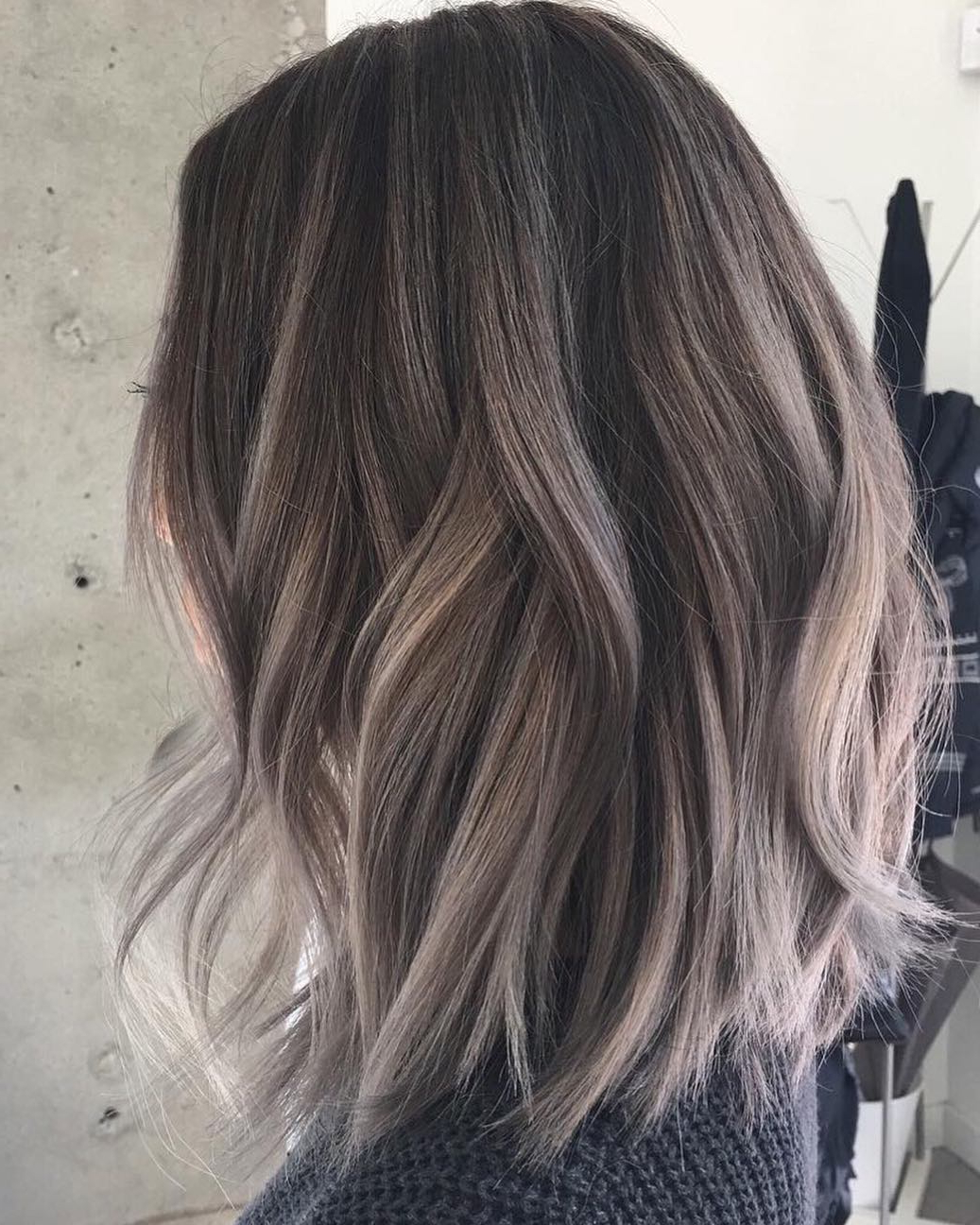 10 Medium Length Hair Color Ideas 2019 Intended For Most Up To Date Medium Haircuts With Gray Hair (Gallery 7 of 20)