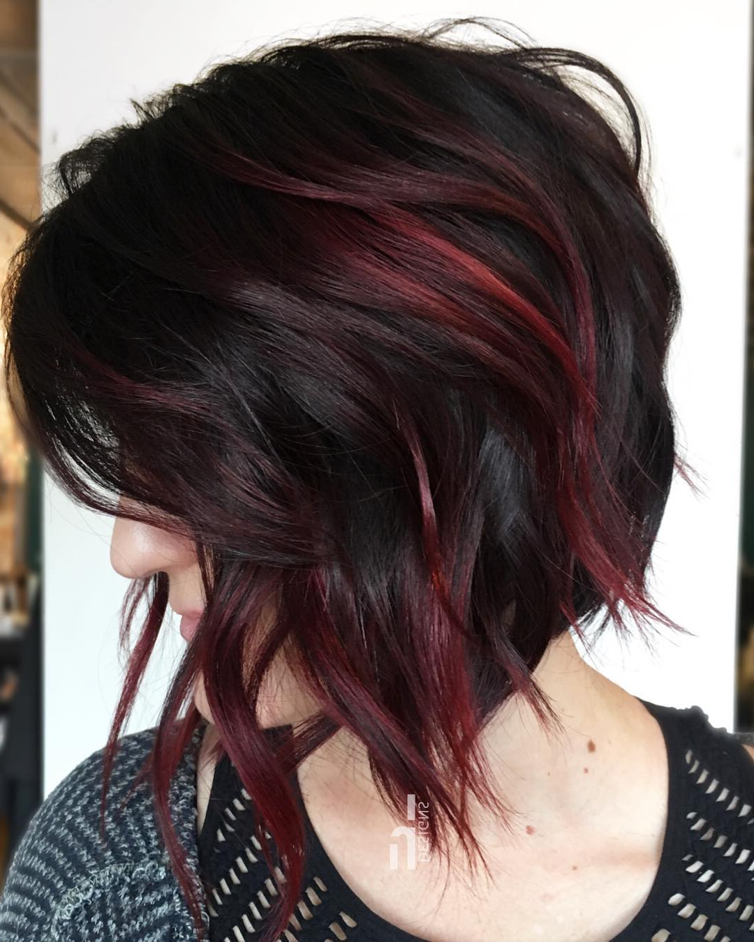 10 Stylish Medium Bob Haircuts For Women – Easy Care Chic Bob Hair 2019 In Trendy Burgundy Bob Hairstyles With Long Layers (View 1 of 20)