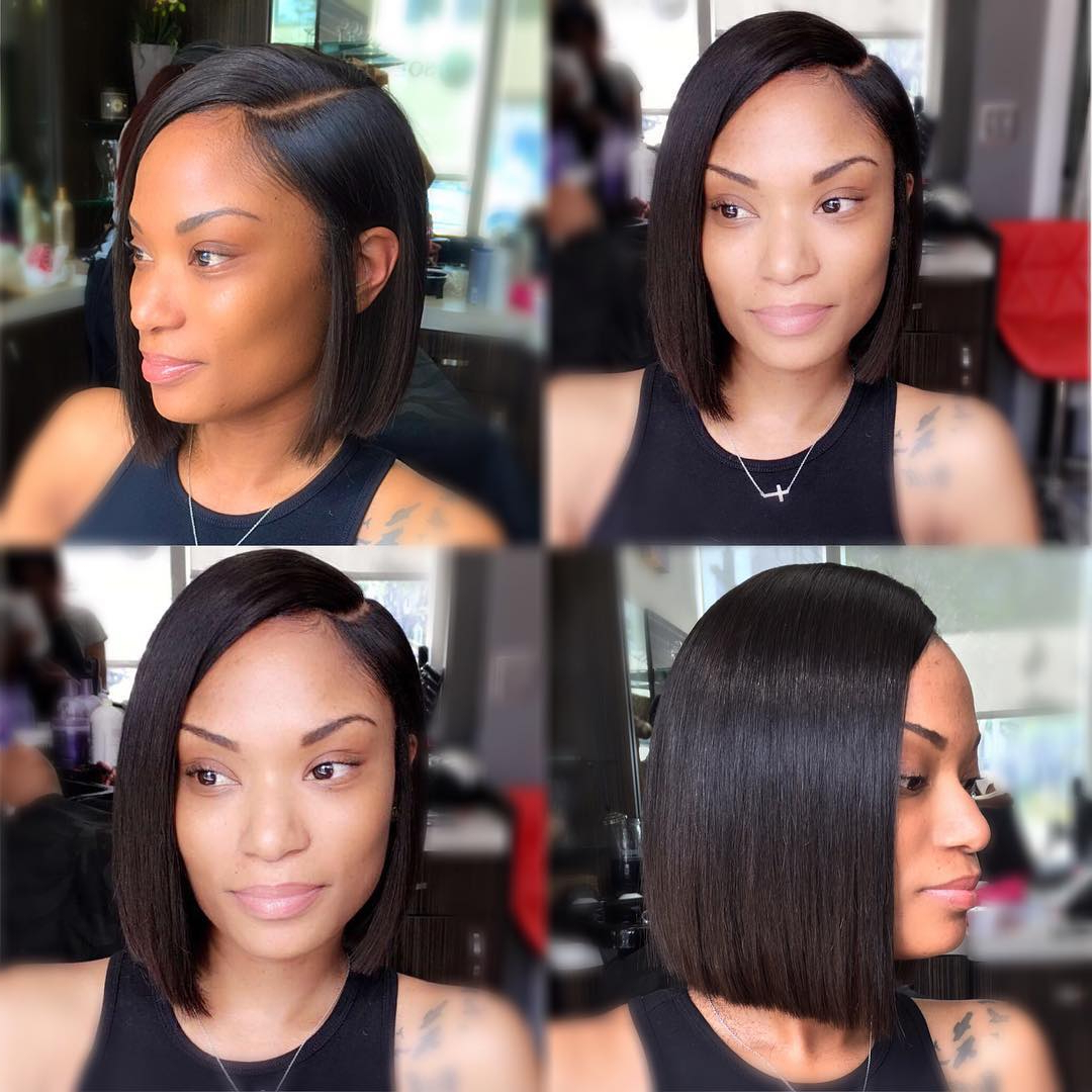 11 Fierce Relaxed Bobs For Black Women 2018 (Gallery 7 of 20)
