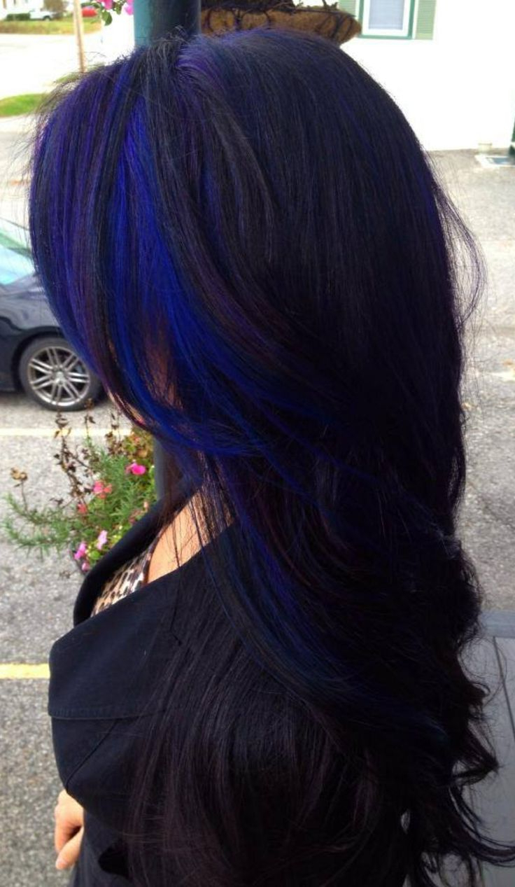 13 Fabulous Highlighted Hairstyles For Black Hair – Pretty Designs Within Well Known Purple And Black Medium Hairstyles (View 13 of 20)