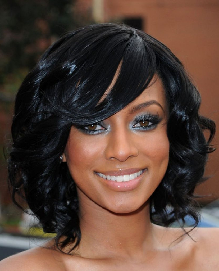 15 Black Hairstyles For Medium Length Hair – Haircuts & Hairstyles 2019 Intended For Preferred Medium Hairstyles For Black Woman (Gallery 9 of 20)