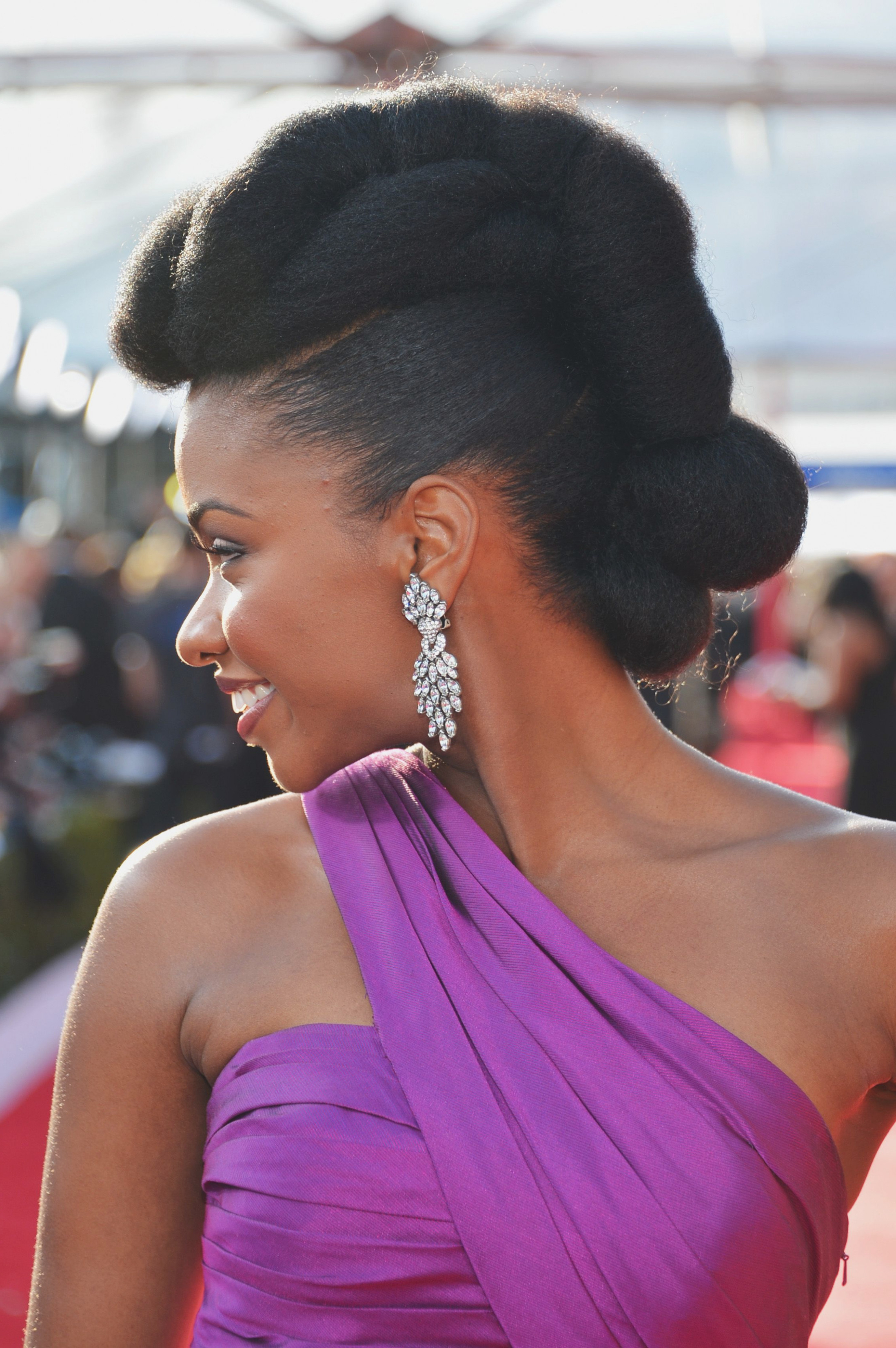 16 Easy Natural Hairstyles For Black Women – Short, Medium – Twist For Recent Medium Haircuts For Natural Hair Black Women (View 18 of 20)