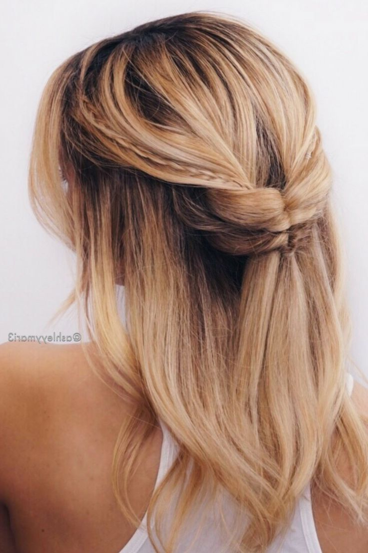 17 Best Hair Updo Ideas For Medium Length Hair (View 3 of 20)