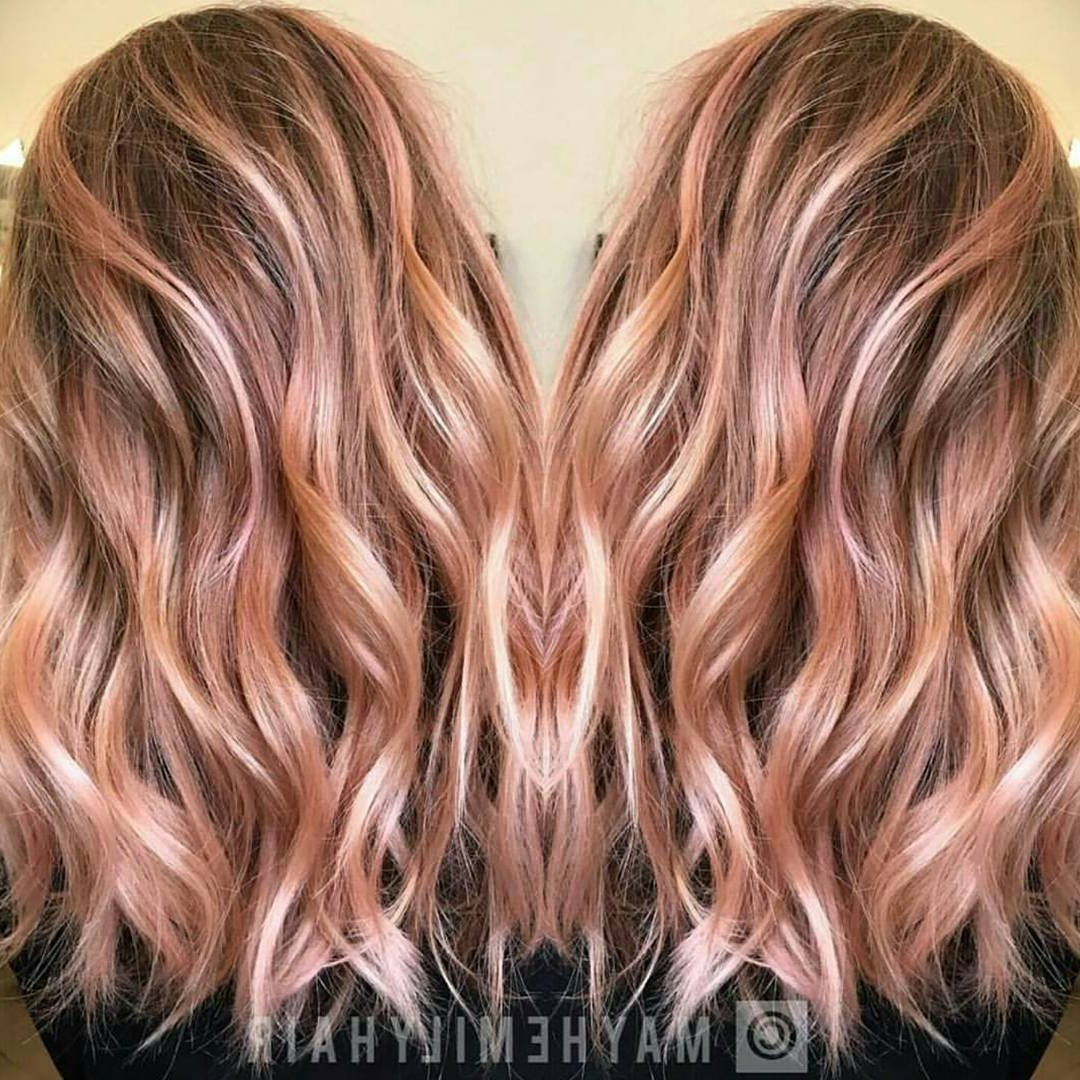 20 Fabulous Summer Hair Color Ideas – Amazing Hair Colours Intended For 2018 Medium Hairstyles For Summer (View 1 of 20)