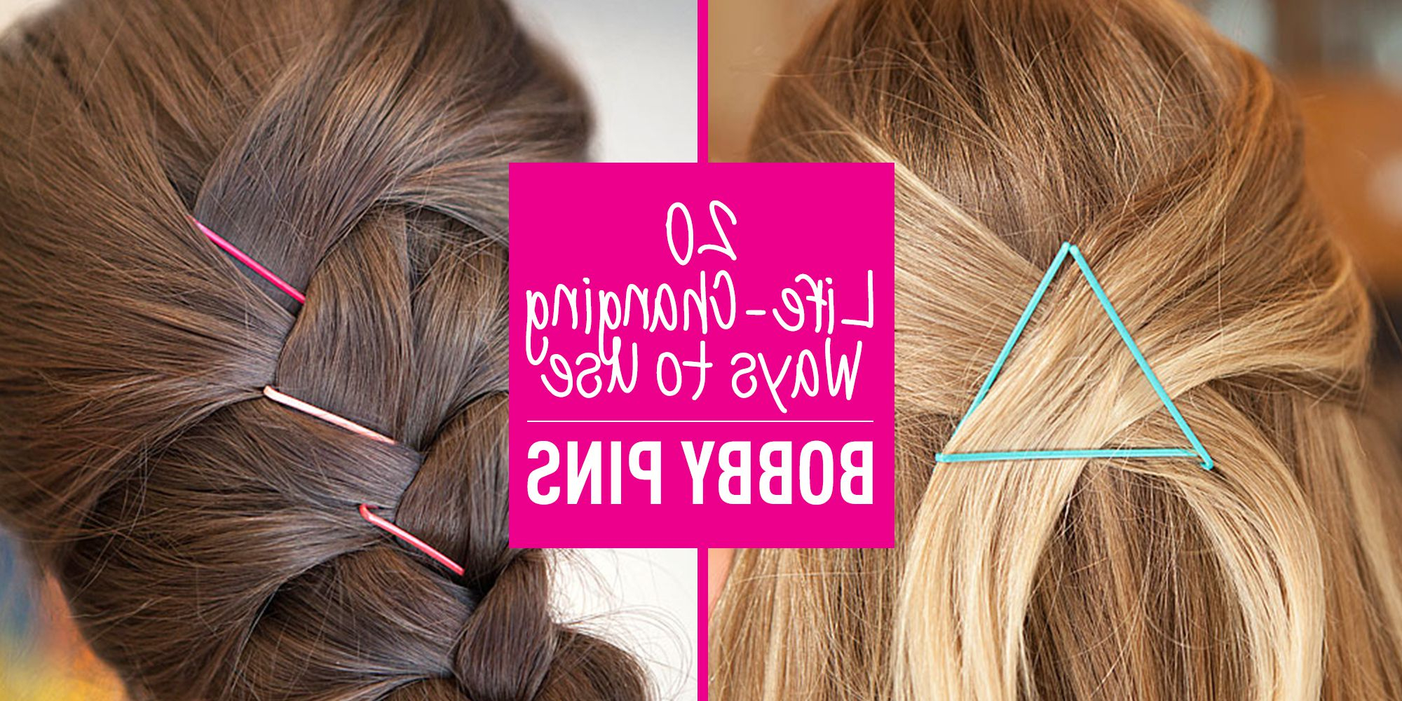 20 Life Changing Ways To Use Bobby Pins Inside Trendy Medium Hairstyles With Bobby Pins (View 12 of 20)