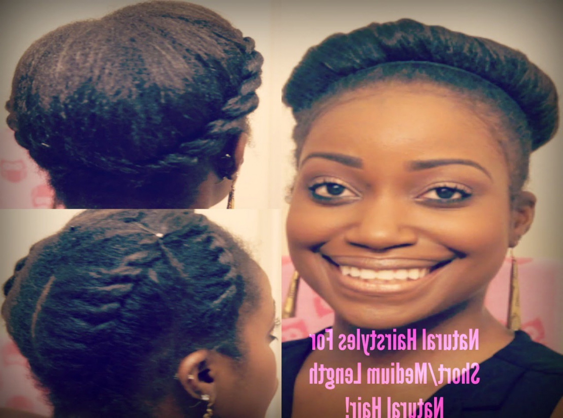 20 Natural Hairstyles For Medium Length 4c Hair Elegant Emejing Intended For 2018 4c Medium Hairstyles (View 15 of 20)