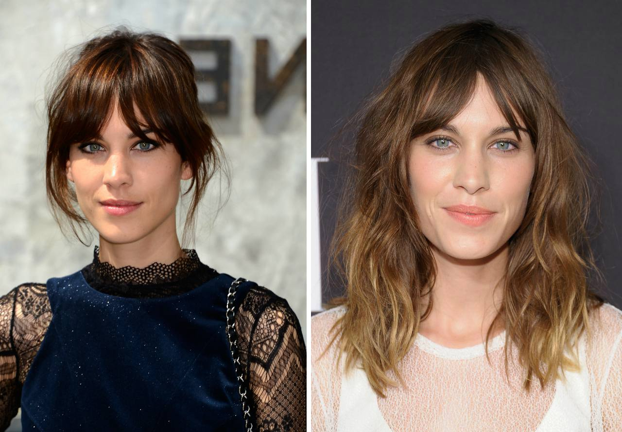 20 Photos Of Hairstyles With Gorgeous Side Swept Bangs In Best And Newest Medium Haircuts With Side Fringe (View 5 of 20)
