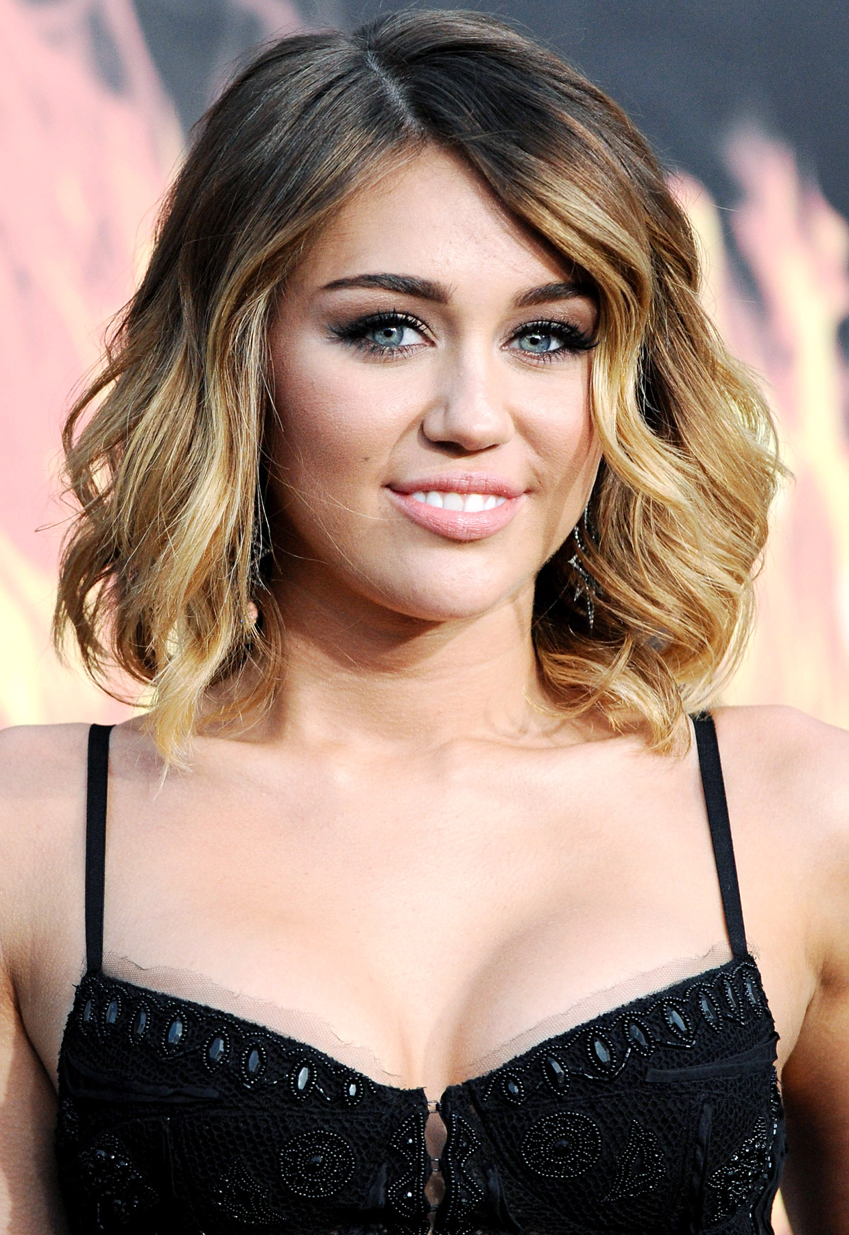 2015 Miley Cyrus Hairstyles Hairstyle 2015 Regarding Current Miley Cyrus Medium Hairstyles (View 1 of 20)