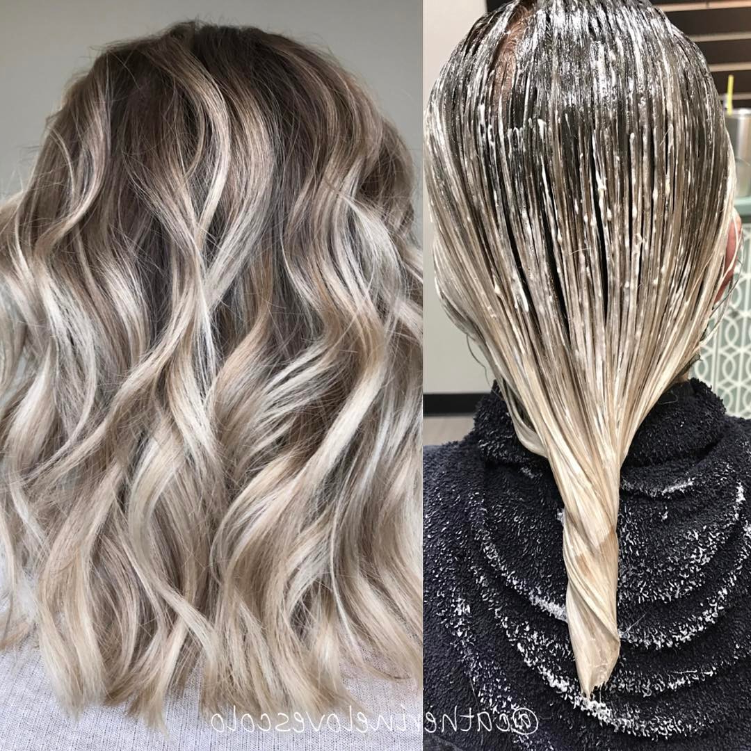 2017 Ash Blonde Medium Hairstyles In 20 Adorable Ash Blonde Hairstyles To Try: Hair Color Ideas (View 10 of 20)