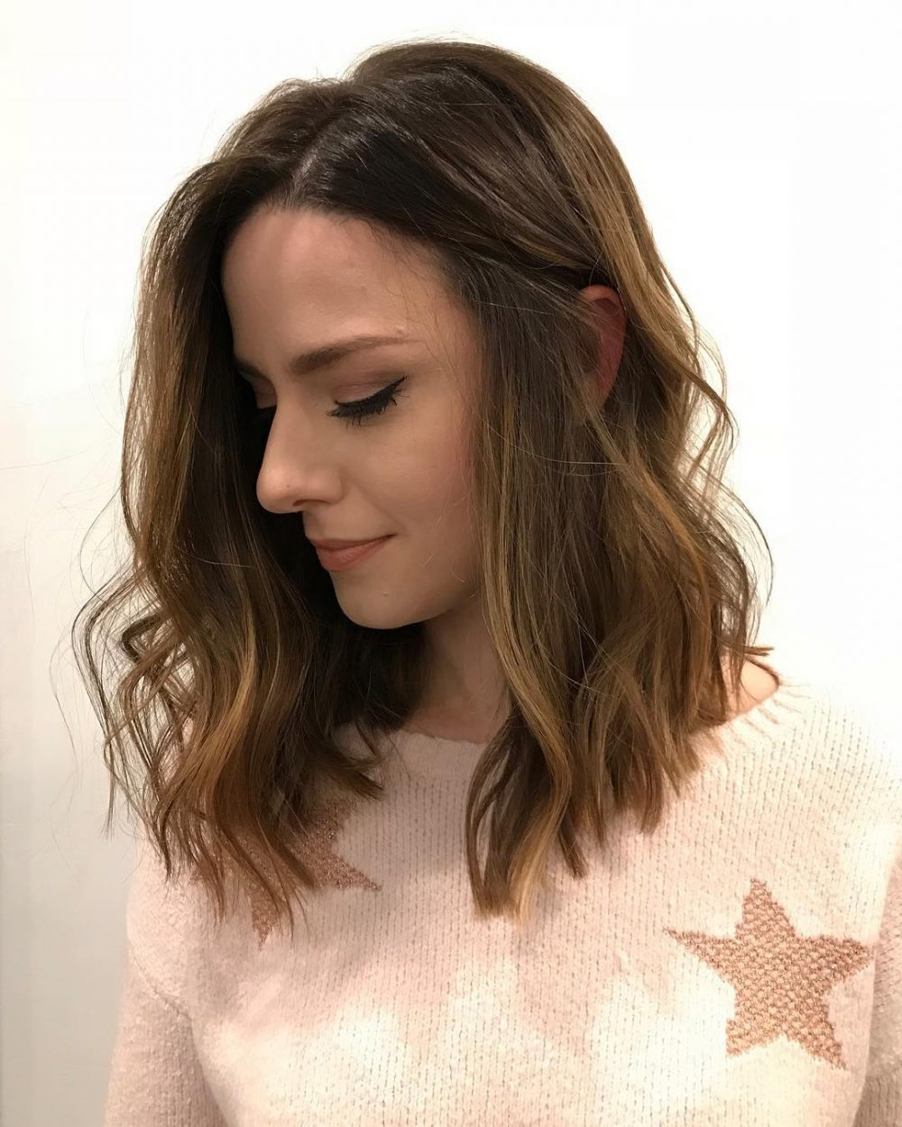 Photo Gallery Of Choppy Layered Medium Hairstyles Viewing 19 Of 20