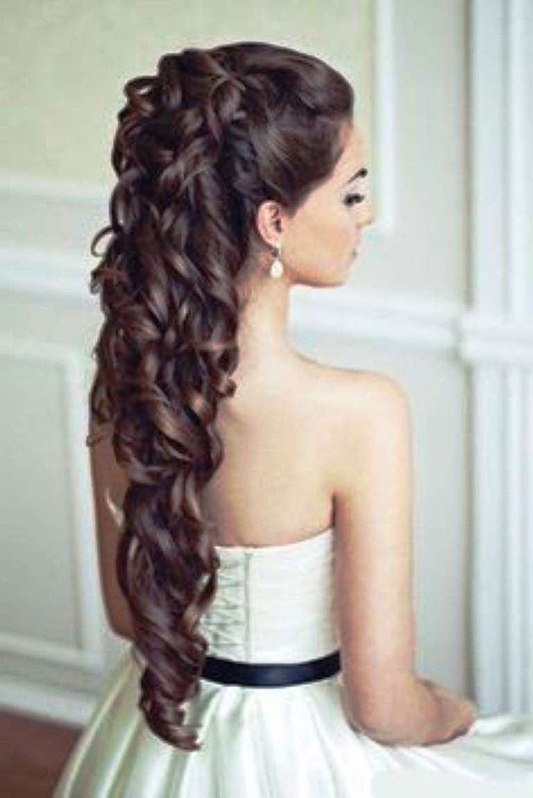 Photo Gallery Of Indian Wedding Medium Hairstyles Viewing