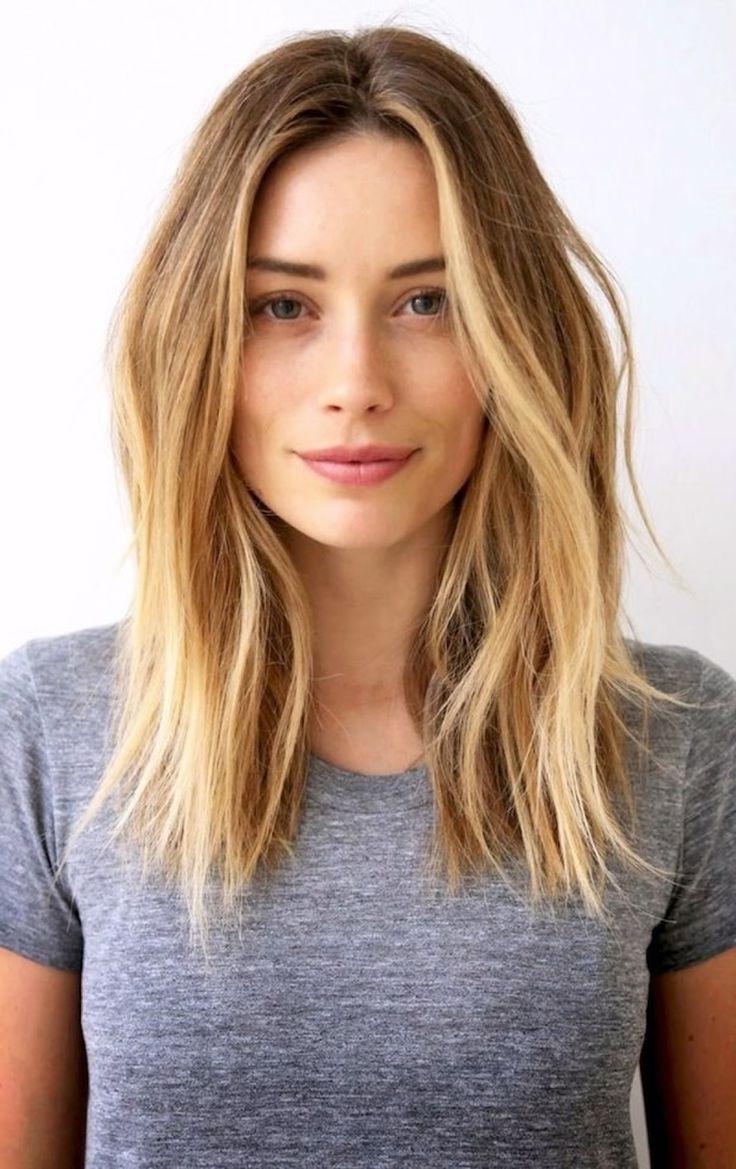 2017 Long Face Medium Hairstyles Inside Medium Hairstyles Long Face New Haircut For Long Hair Women Long (View 7 of 20)