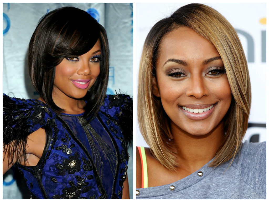 2017 Medium Haircuts For Black Women Round Face With Regard To Hair Cuts : Haircuts For Round Faces Women The Best Hairstyles Black (View 4 of 20)