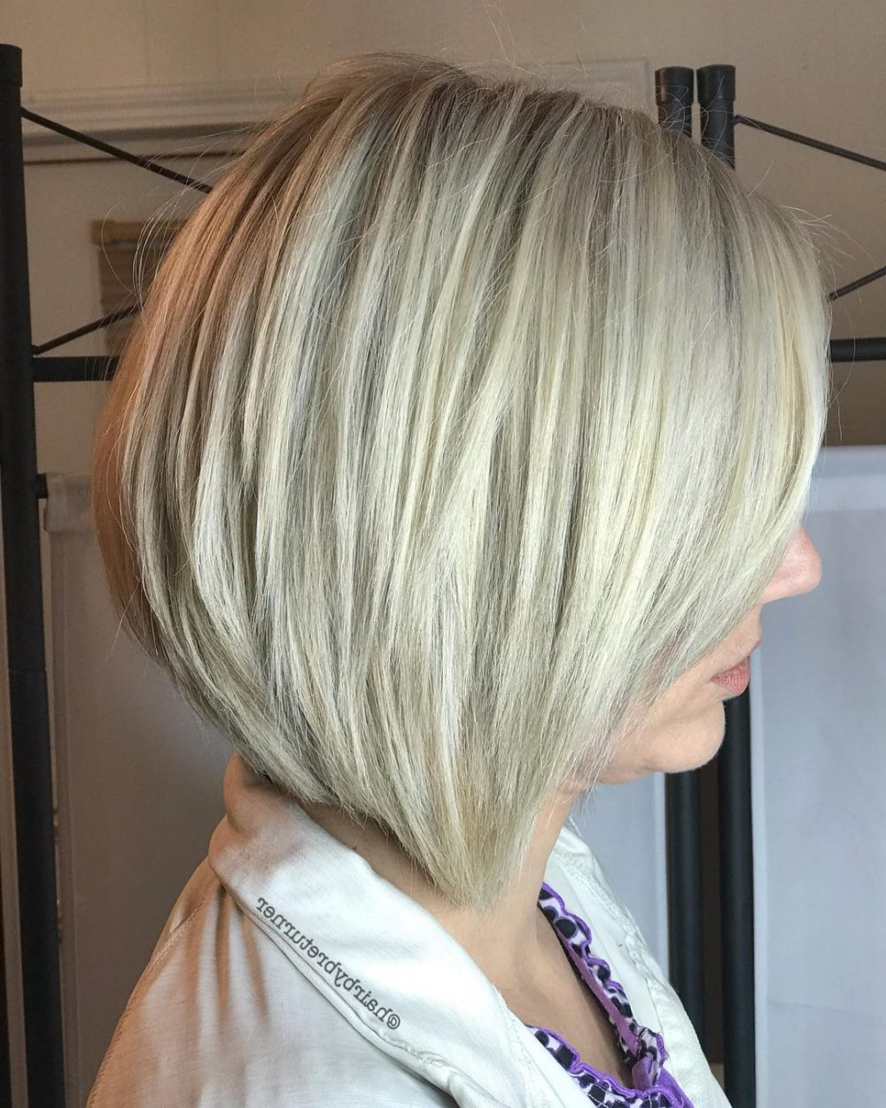 2017 Medium Haircuts For Grey Haired Woman Regarding 42 Sexiest Short Hairstyles For Women Over 40 In  (View 3 of 20)