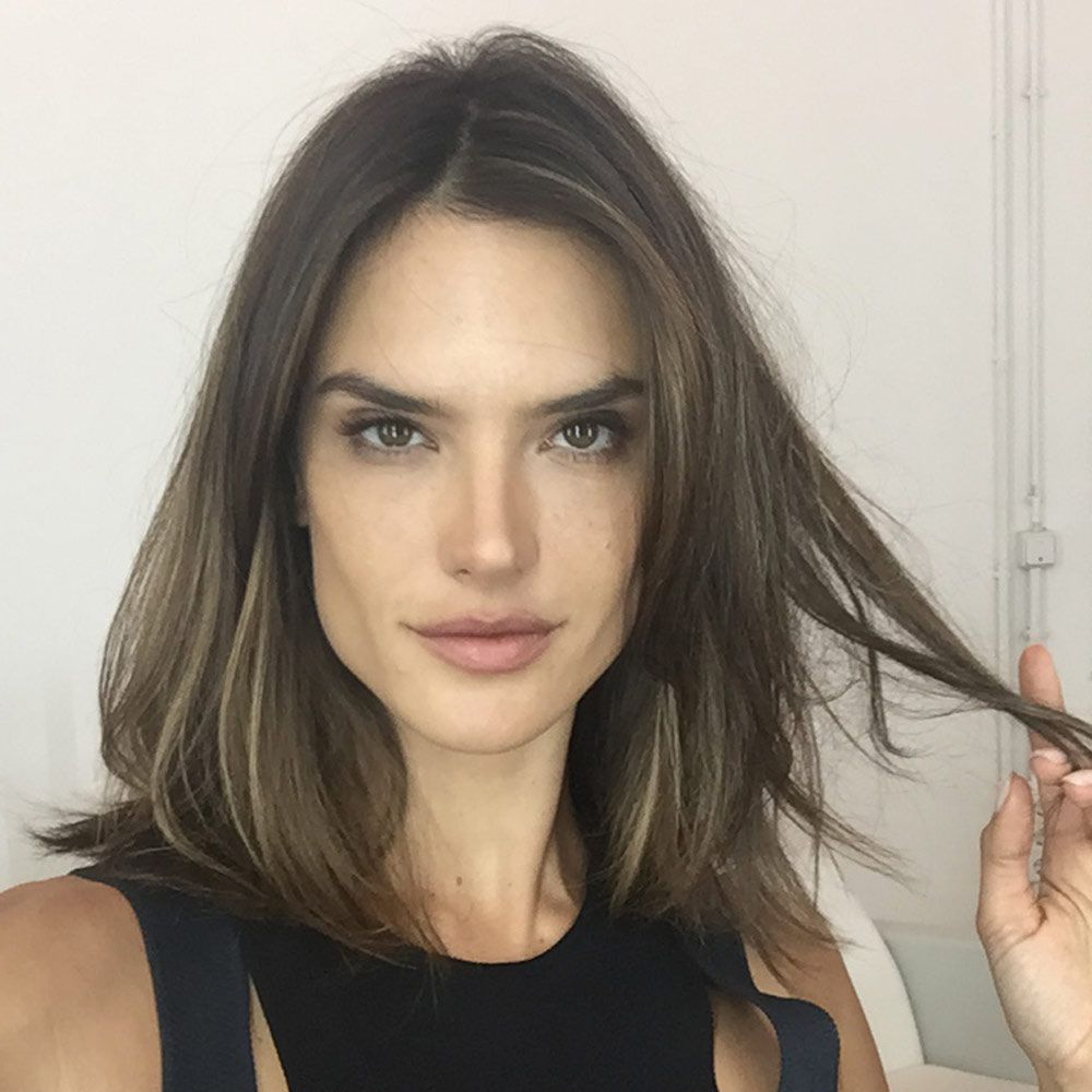 2017 Medium Haircuts For Thick Hair Long Face With 11 Signs You Should Just Get A Lob Already (View 1 of 20)