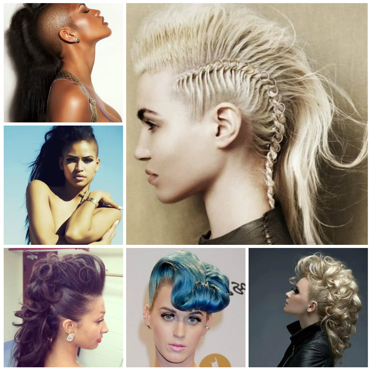 2017 Mohawk Hairstyles With An Undershave For Girls Intended For Mohawk Hairstyle For Long Hair – Trendy Hairstyles 2019 For Long (View 2 of 20)