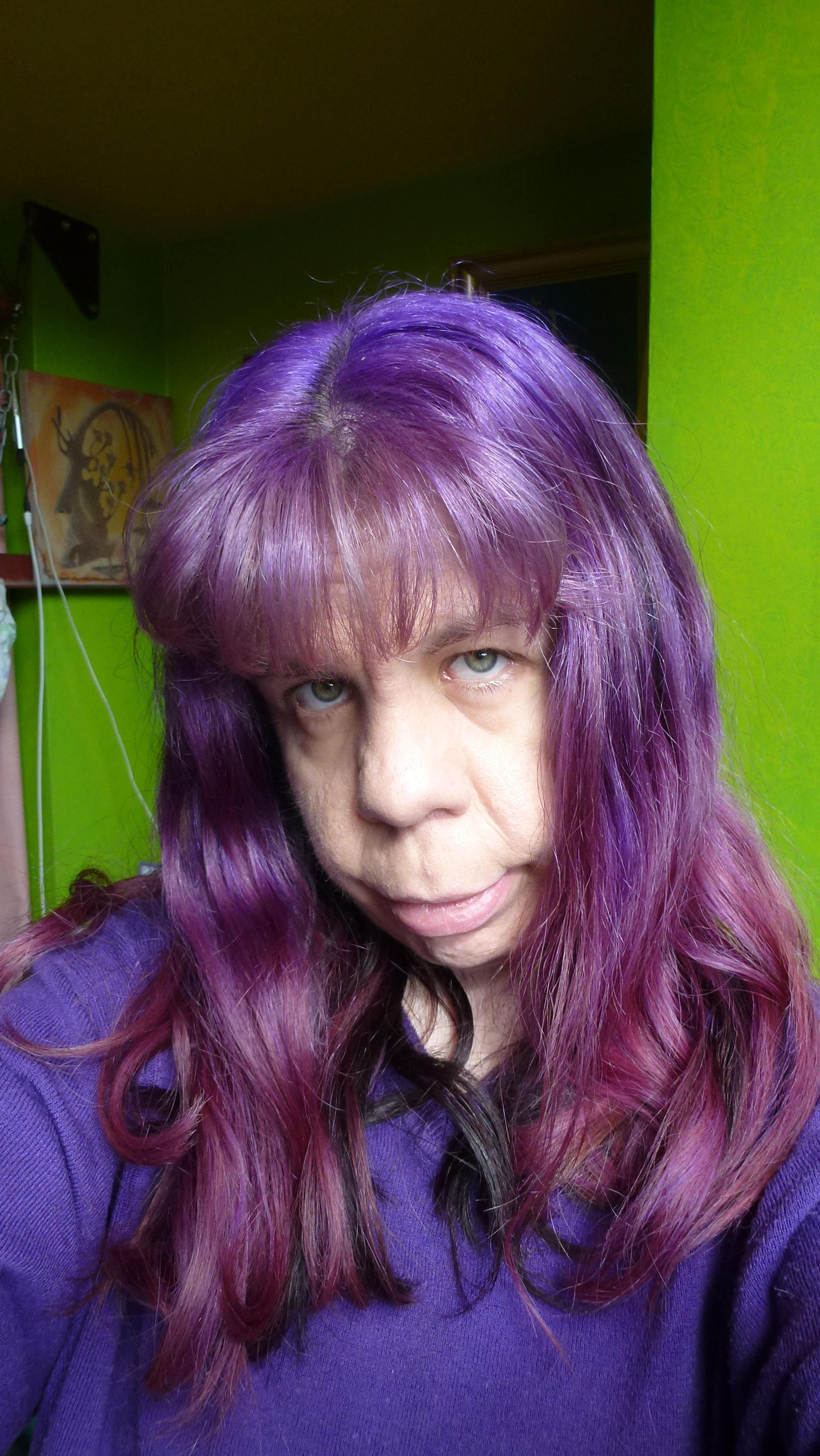 2017 Purple Medium Hairstyles With Regard To Purple (View 6 of 20)