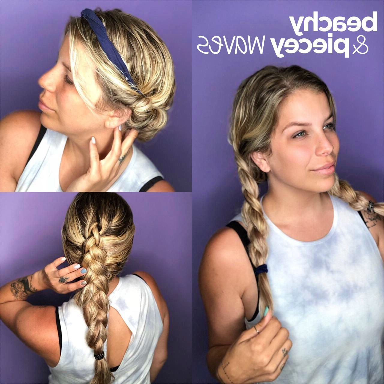 2017 Ride The Wave Mohawk Hairstyles In Ride The Waveheat Free Beachy Waves For The Win! Find Your (View 1 of 20)