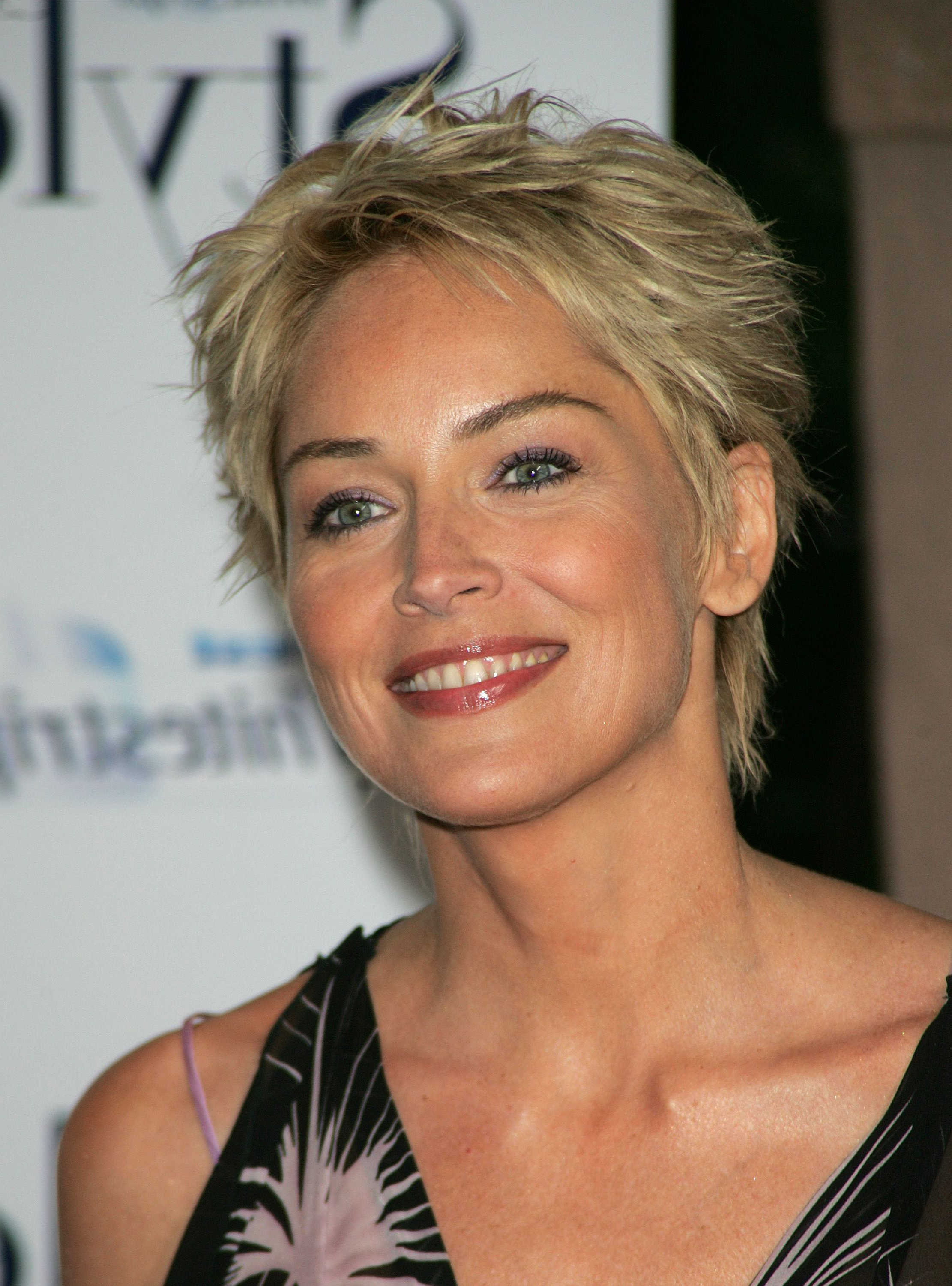 2017 Sharon Stone Medium Haircuts Regarding Sharon Stone Short Hairstyles – Hairstyle For Women & Man (View 1 of 20)