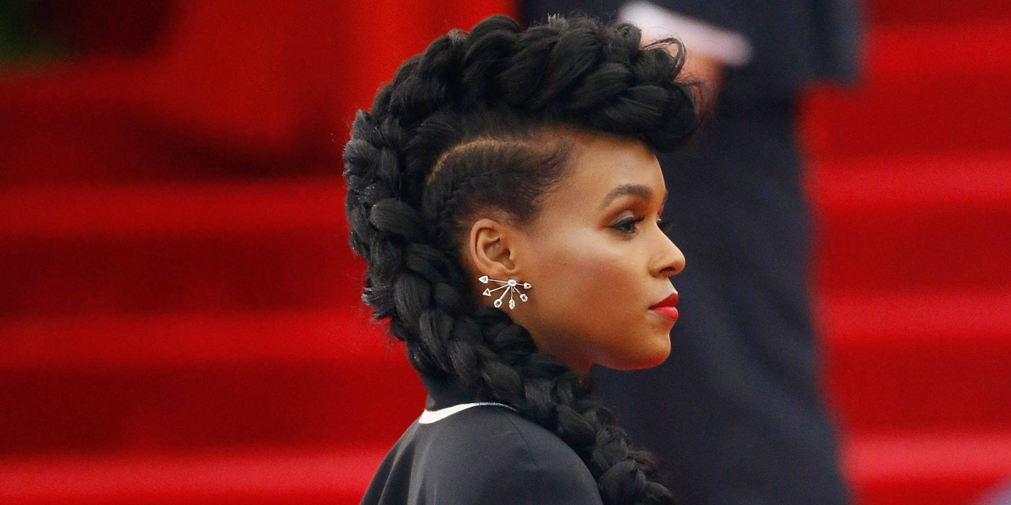 2017 Small Braids Mohawk Hairstyles Inside 40 Mohawk Hairstyles For Black Omen (View 5 of 20)