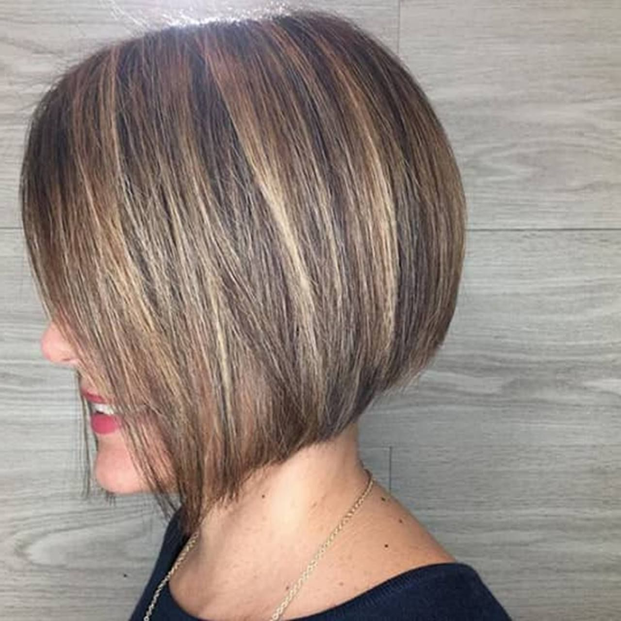 2017 Straight Layered Tresses In A Line Hairstyles Within 17 Layered Bob Hairstyles You'll Want To Try Now (View 2 of 20)