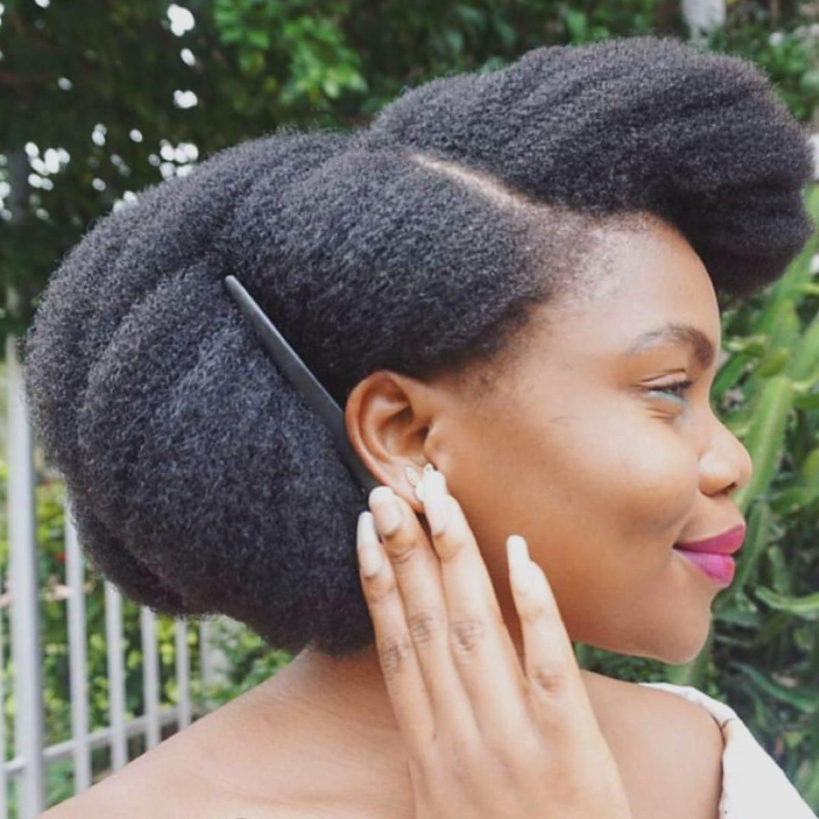 2018 Black Women Natural Medium Hairstyles With Medium Hairstyles : Awesome Medium Length Natural Hairstyles For (View 4 of 20)